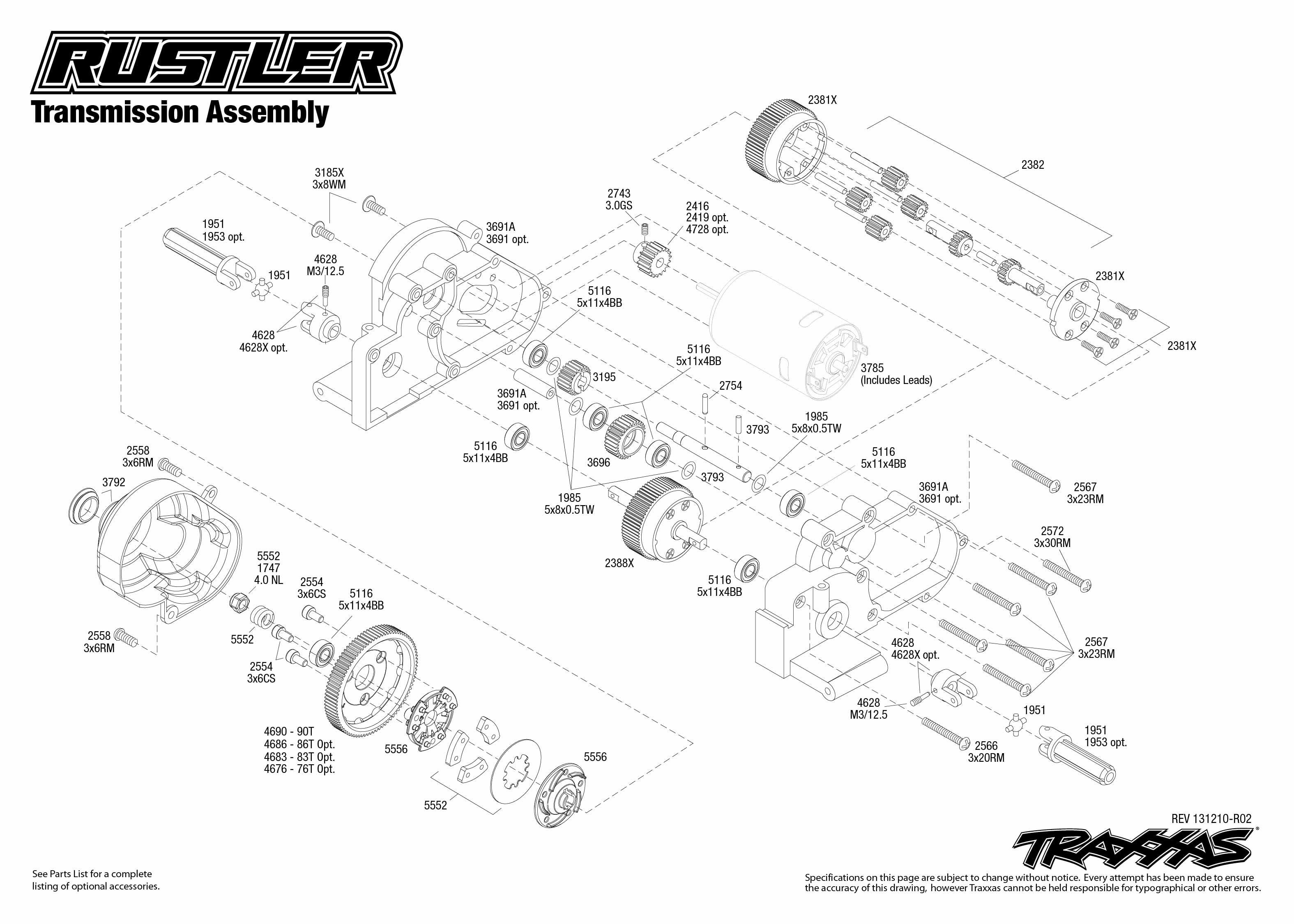 Car Body Part Diagram Image Result for Traxxas Rustler Parts Diagram Of Car  Body Part Diagram