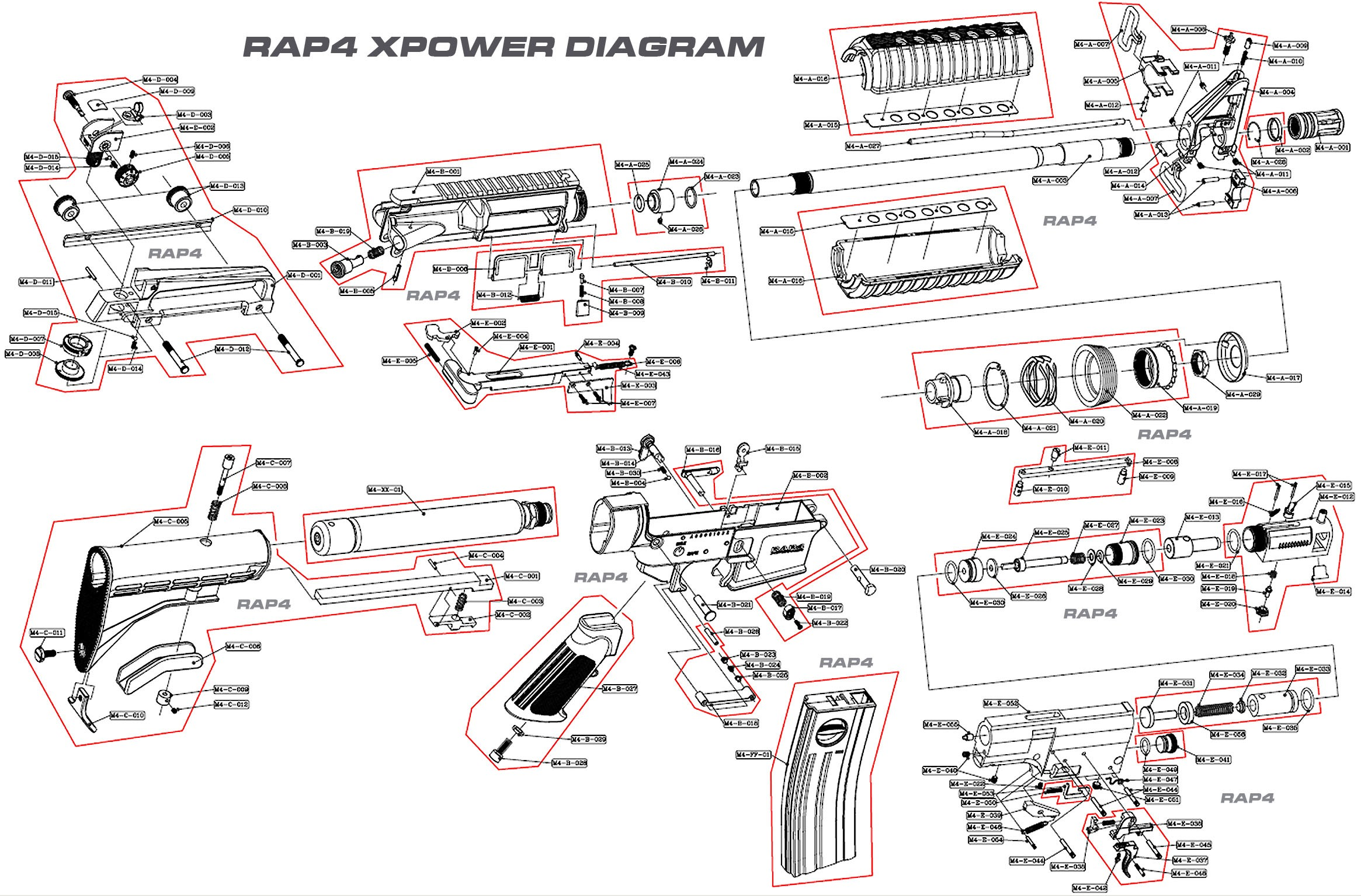 Car Body Part Diagram M4 Carbine Schematic Military Pinterest Of Car Body Part Diagram