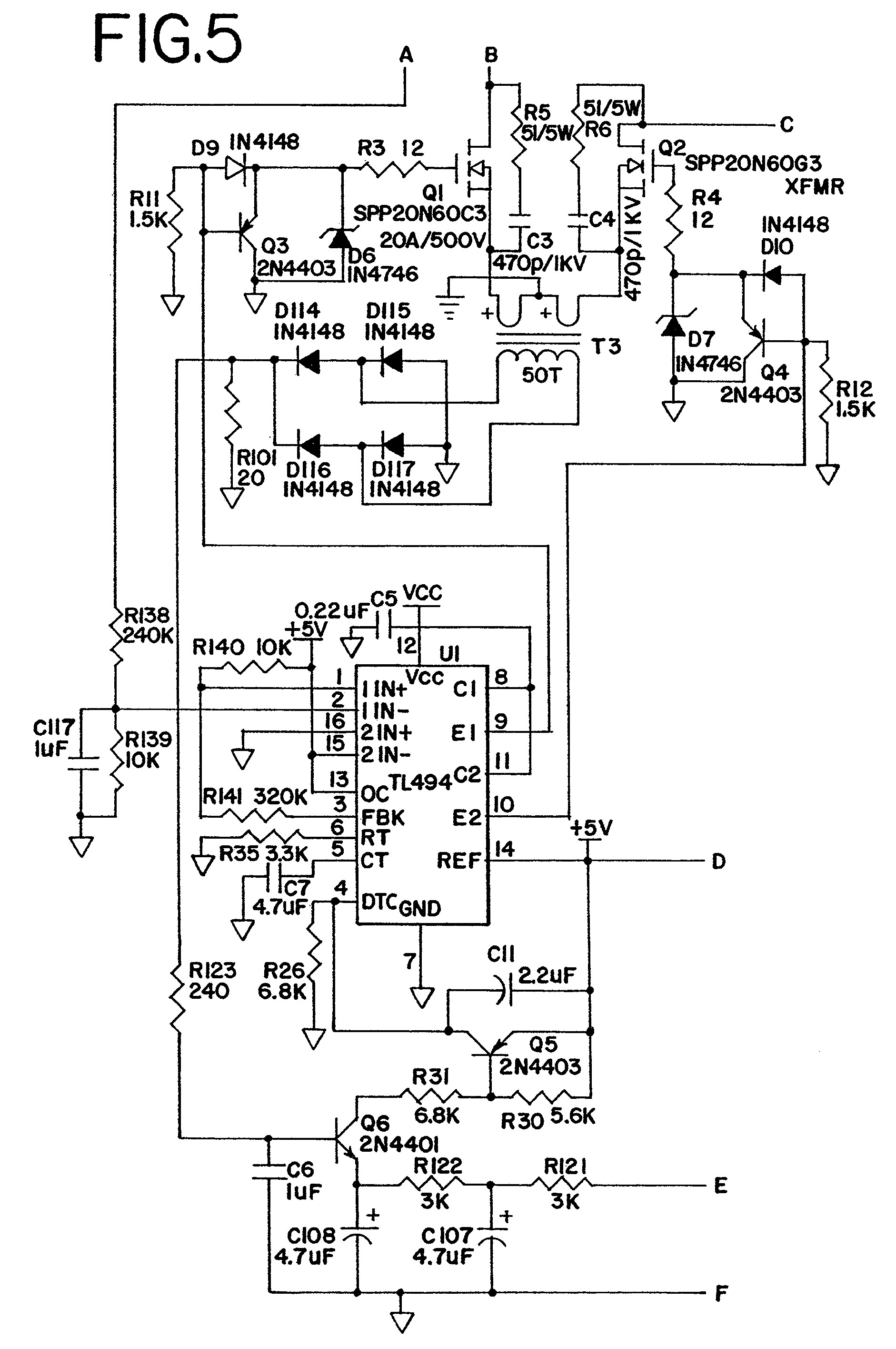 car charger circuit diagram