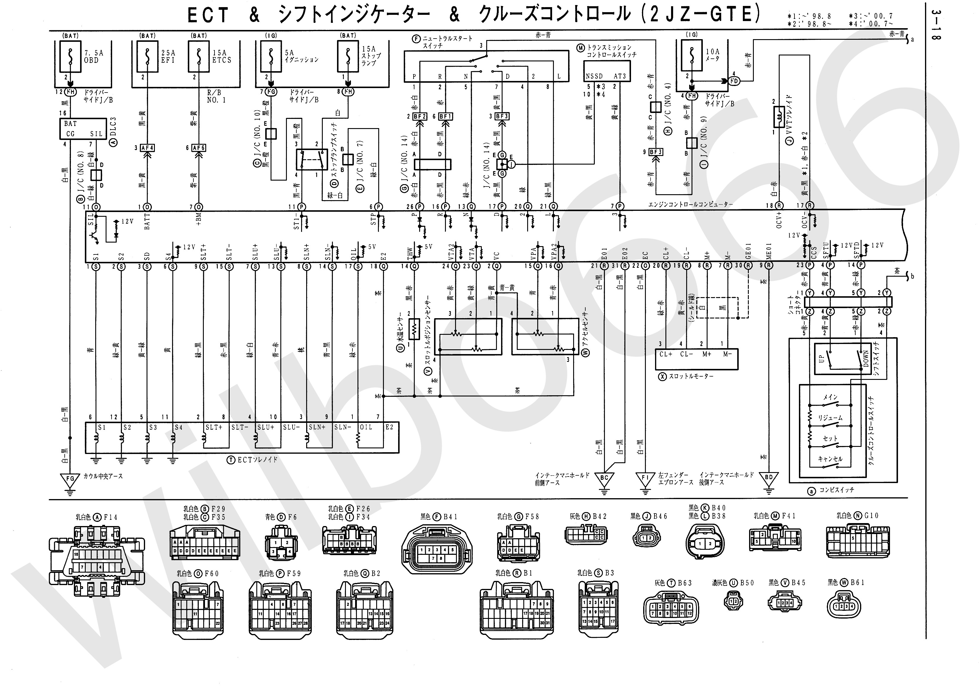 Car Engine Management System Block Diagram Wilbo666 1jz Gte Jzz30 ...