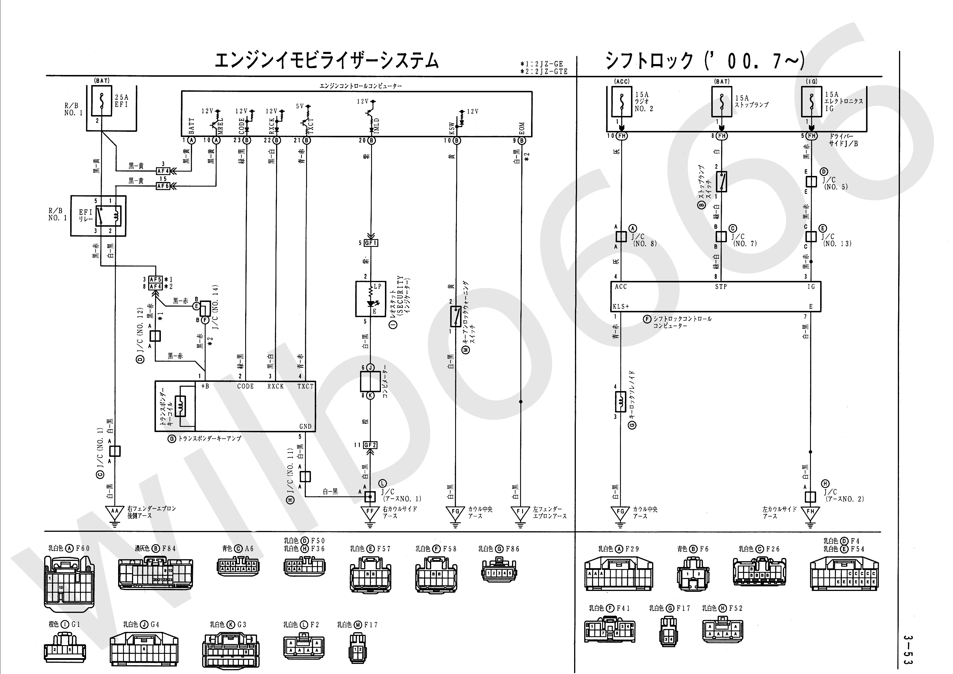Car Engine Management System Block Diagram Sel Generator Control Wilbo666 2jz Gte Vvti Jzs161 Aristo Wiring Of