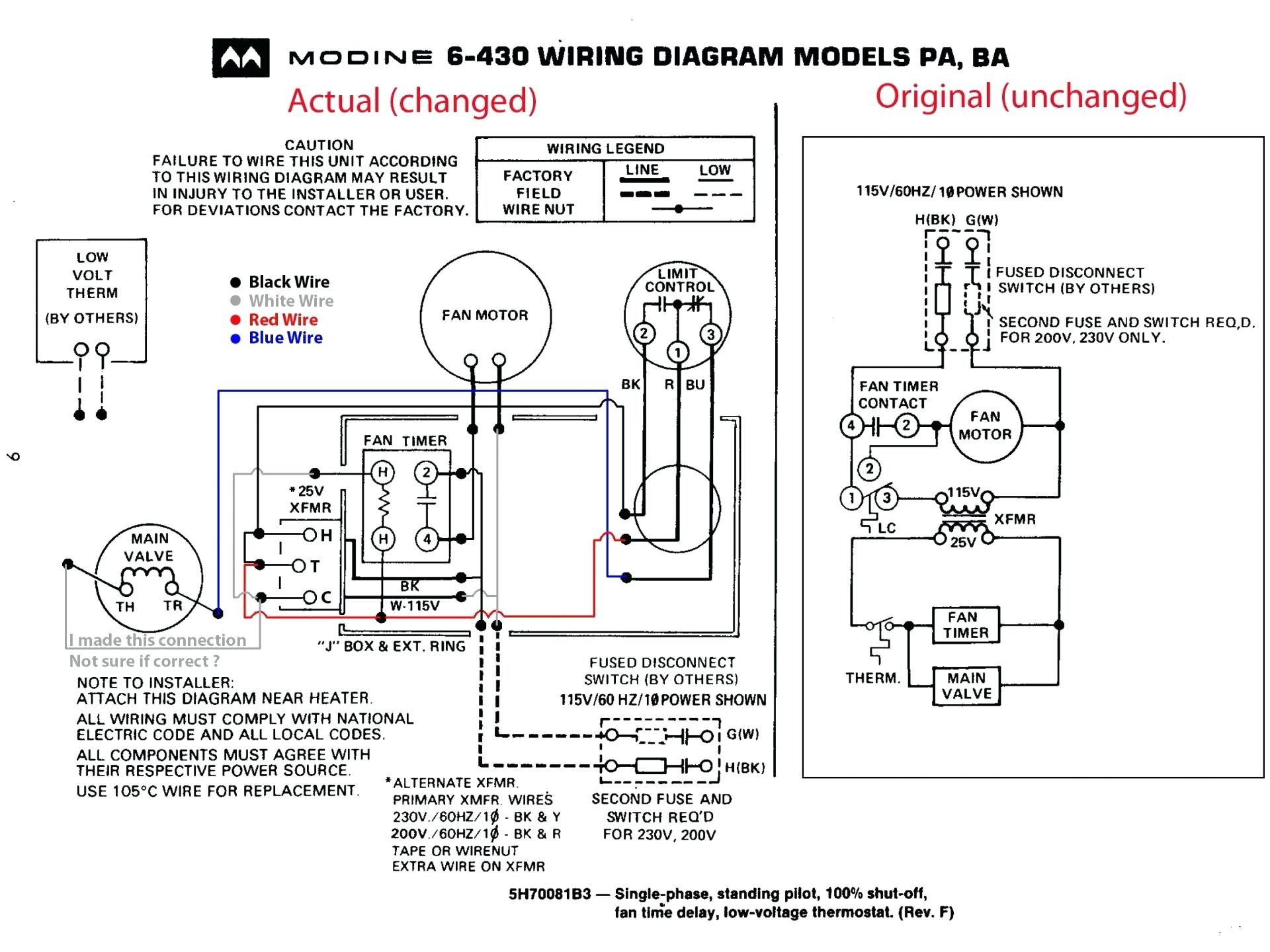 Car Heater Blower Motor Wiring Diagram 1966 Chevy Impala Hvac Trane Furnace Older Gas Basic