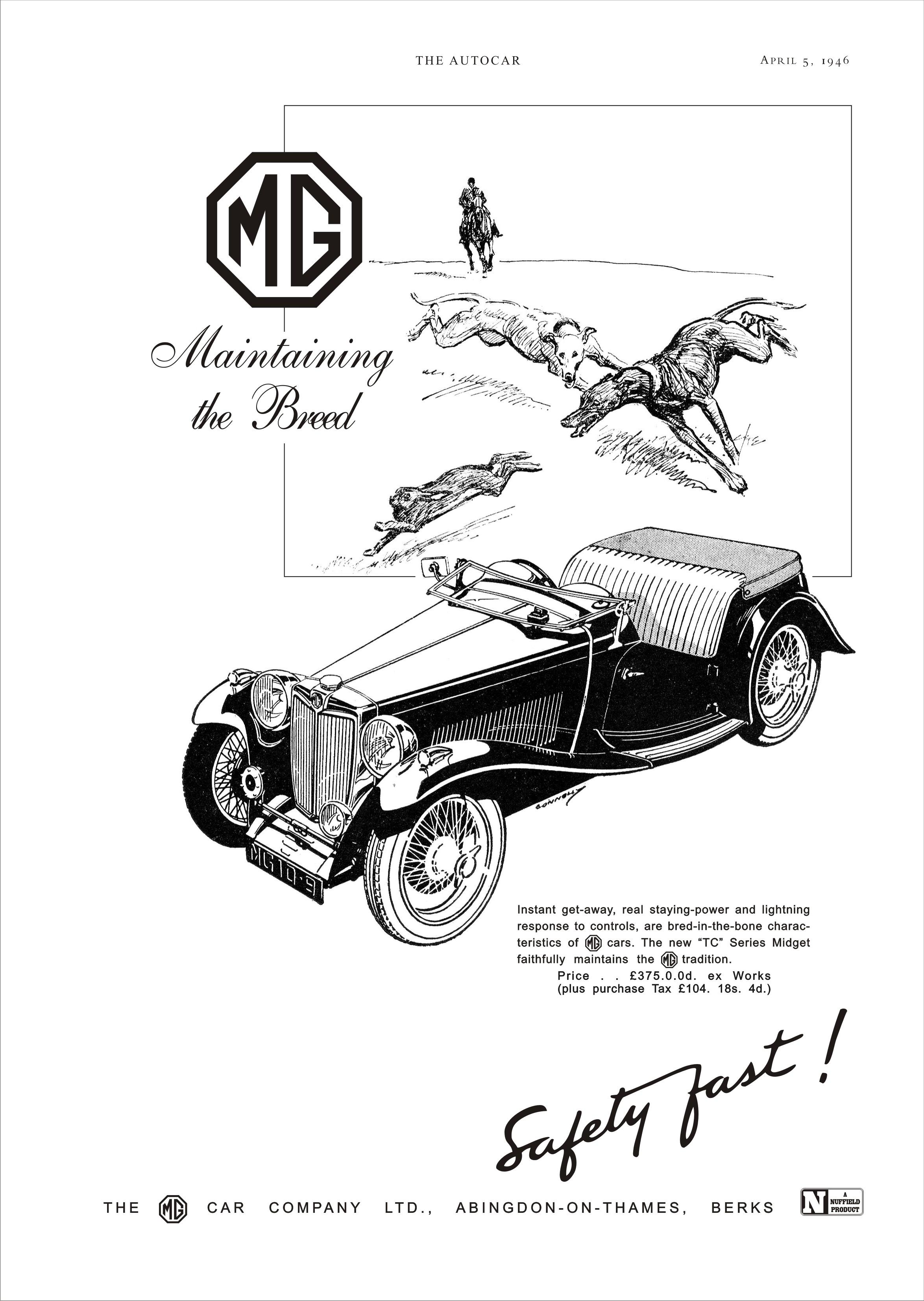 Car Motor Diagram Car Advert Mg Tc 2 1946 Mg Ta Tb Tc Td Tf Pinterest Of Car Motor Diagram
