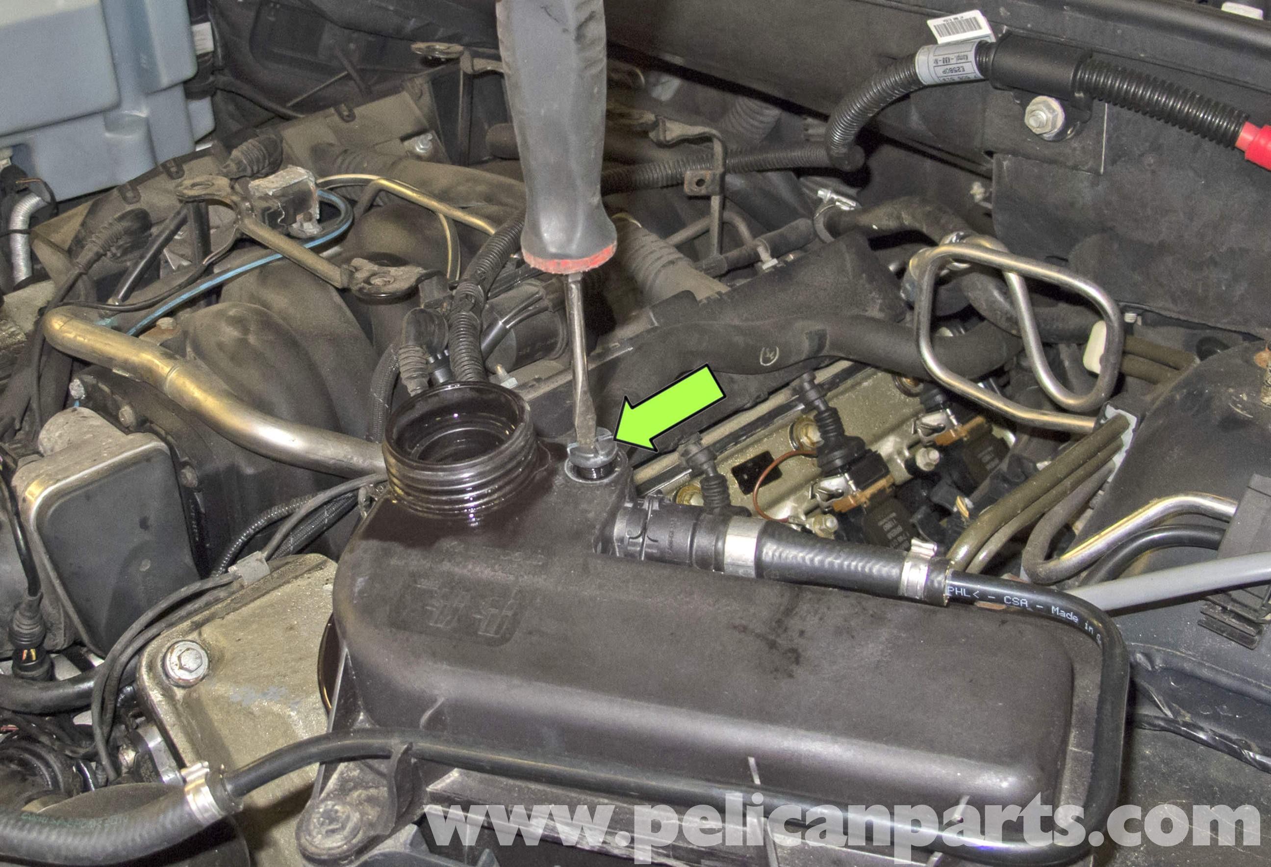 Car Radiator Diagram Bmw X5 Cooling System Draining and Filling E53 2000 2006 Of Car Radiator Diagram