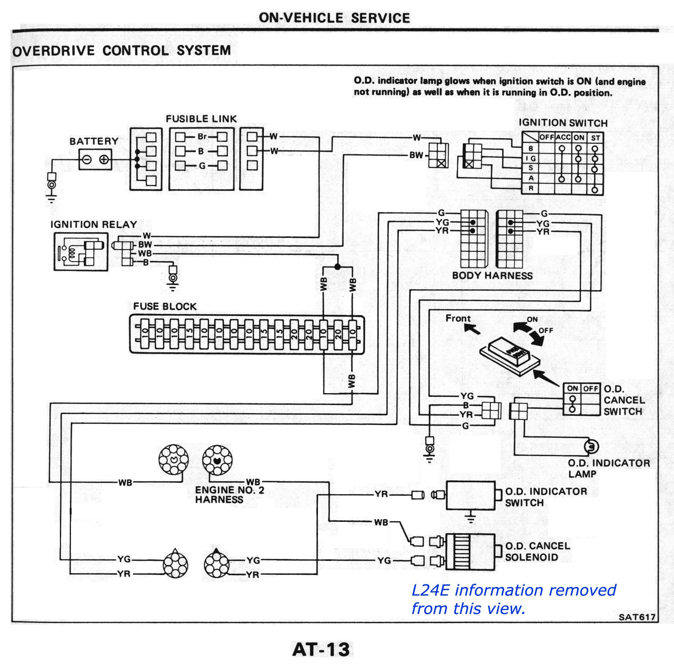 Car Reverse Light Wiring Diagram Harley Davidson 1960 Chevy Nissandiesel Forums View Topic L4n71b Od At 1983 84 Of