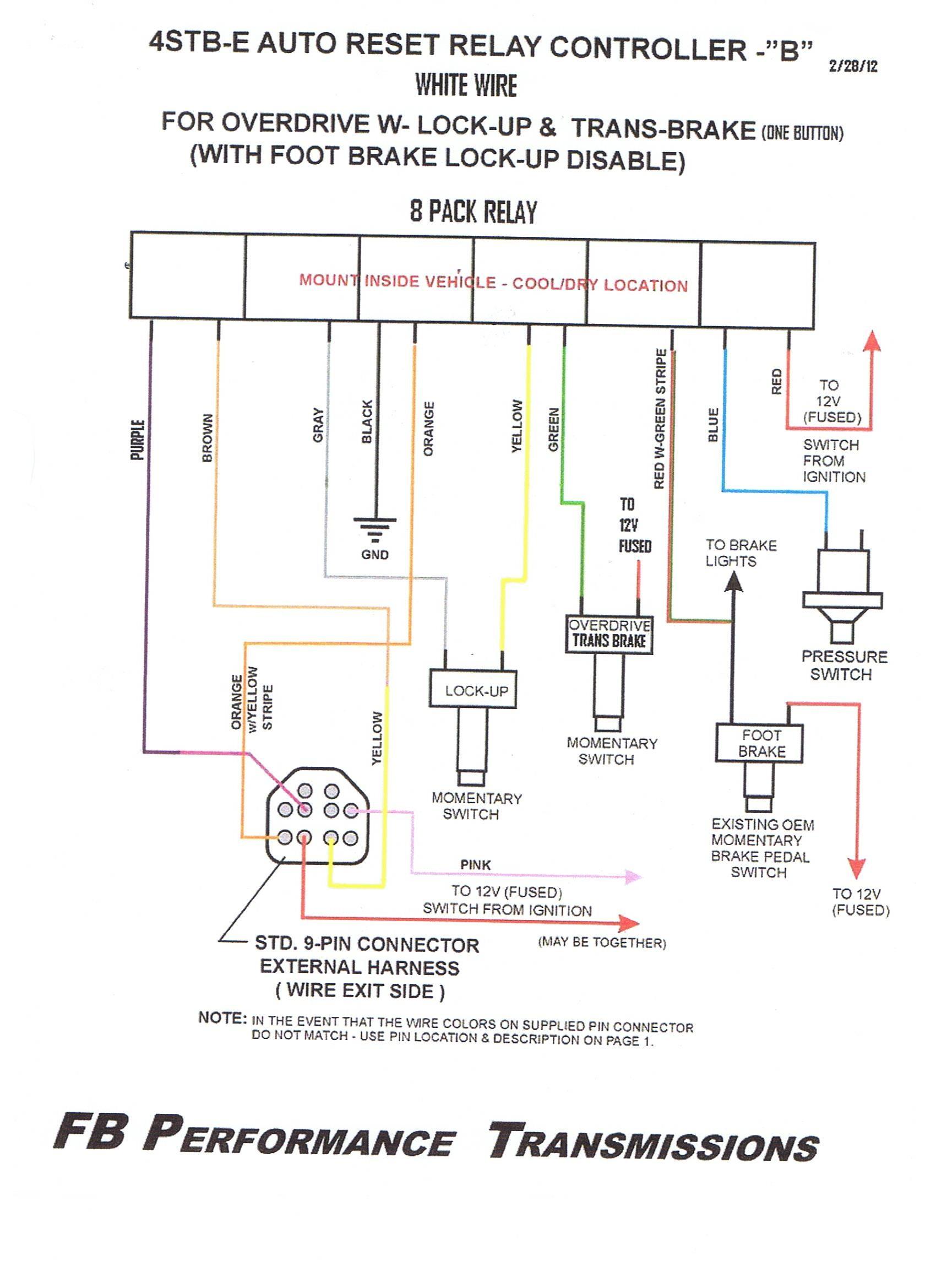 Car Reverse Light Wiring Diagram Harley Davidson 1960 Relay Technical Advice Of