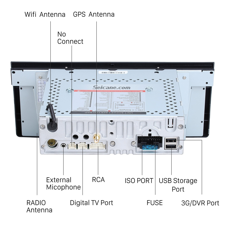 Car Stereo System Diagram Car Audio Wiring Diagram Pioneer Radio ...