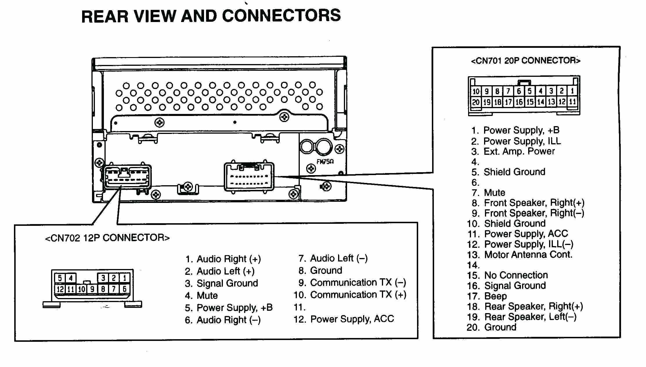 Car Stereo Wire Diagram New Stereo Wiring Diagram Diagram Of Car Stereo Wire Diagram