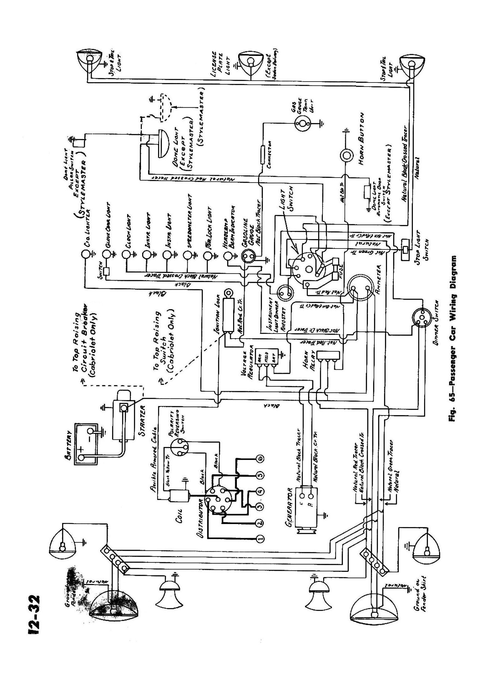 Car Wiring Diagrams Schematic Chevy Wiring Diagrams Of Car Wiring Diagrams Schematic