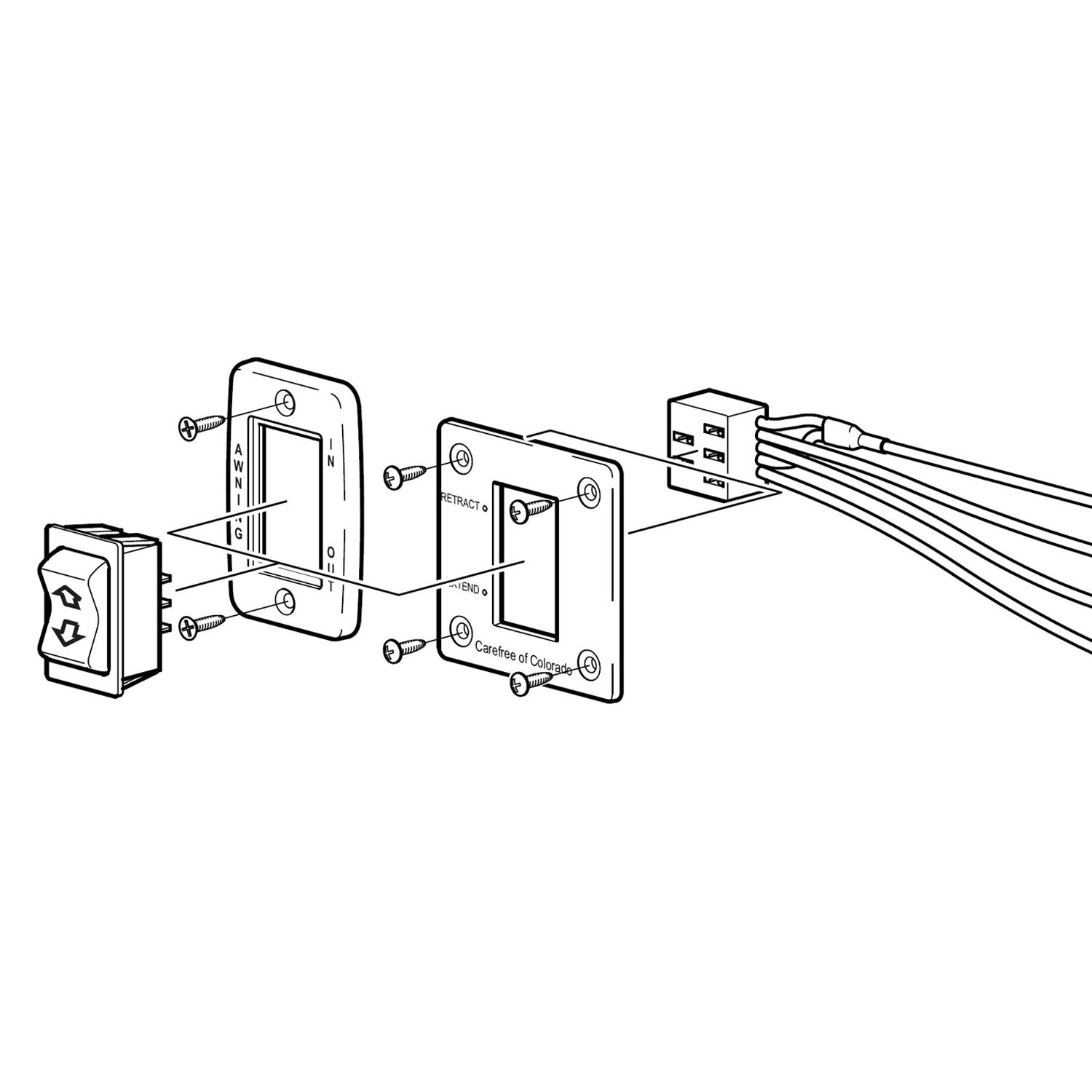 Carefree Awning Parts Diagram Carefree R Awning Switch Of Carefree Awning Parts Diagram