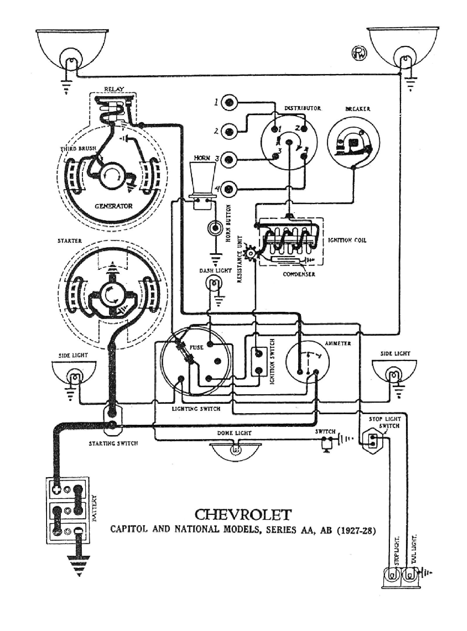 57 Chevy Engine Wiring Diagram - WIRE Center •