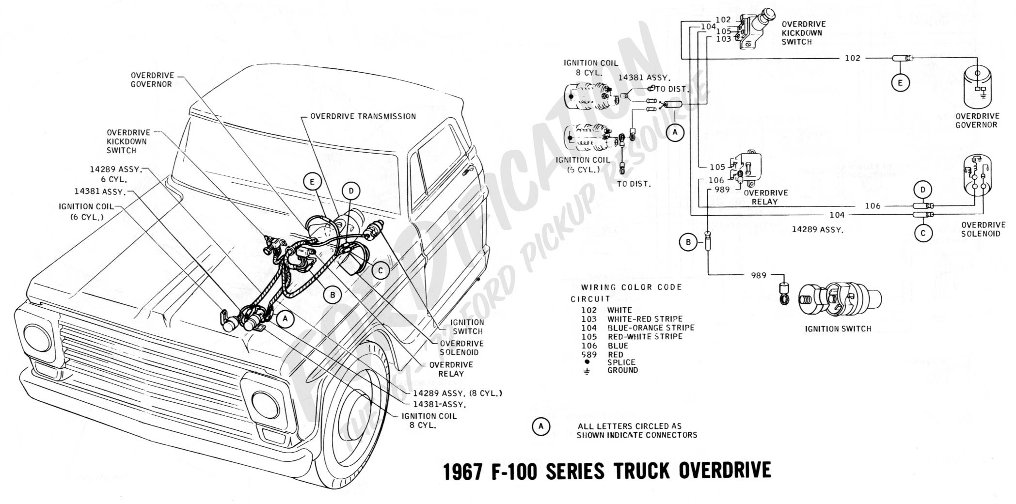 Chevy Truck Steering Column Diagram ford Truck Technical Drawings and Schematics Section H Wiring Of Chevy Truck Steering Column Diagram