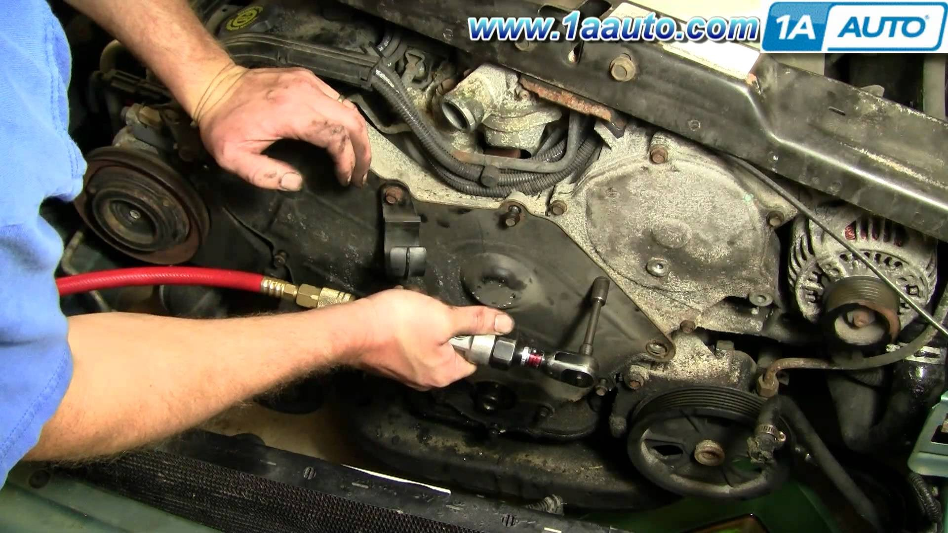 Chrysler 300m Engine Diagram My Wiring 3 5l How To Change Timing Belt Dodge Intrepid 95 97 Part 2 1aauto