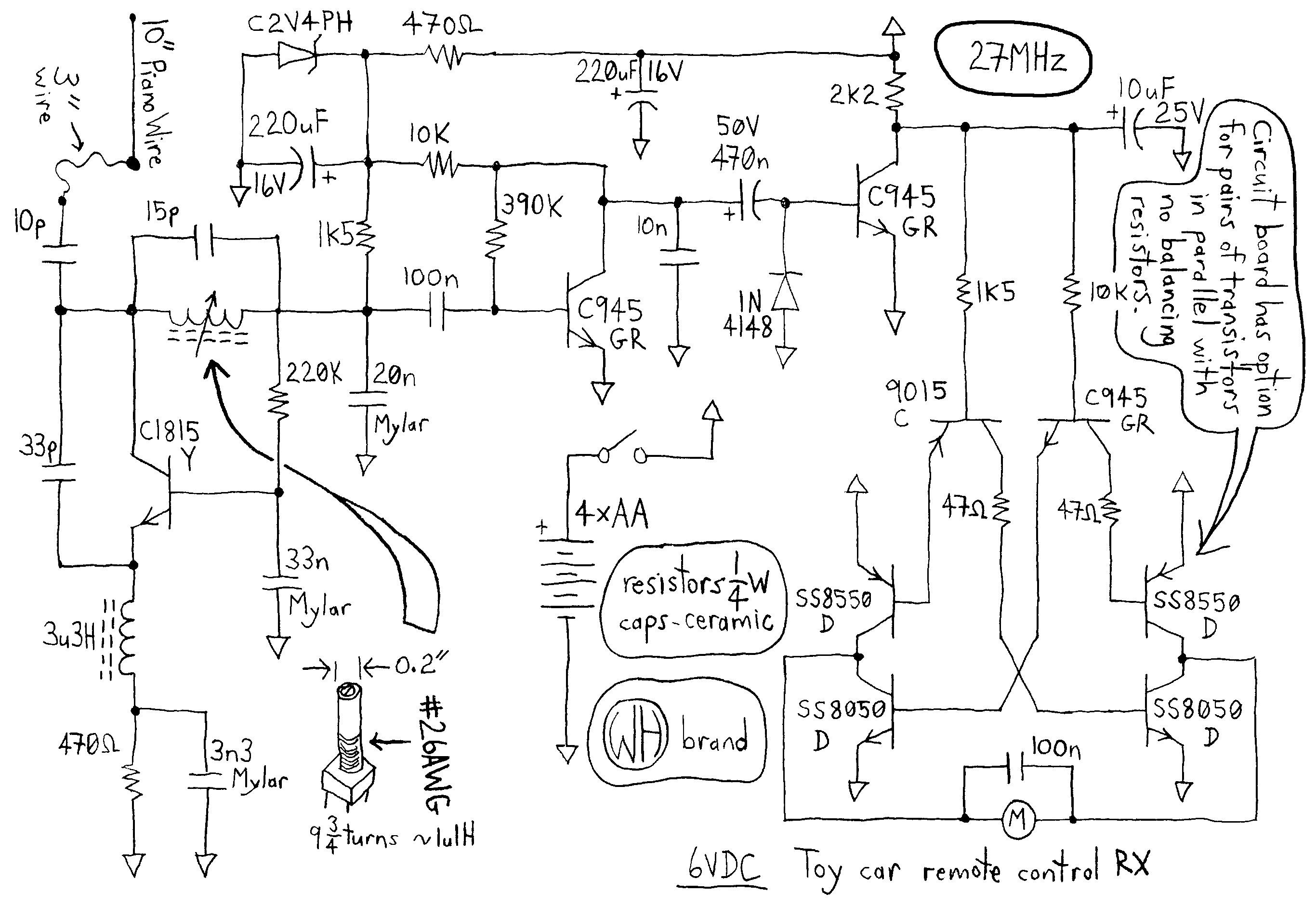 Circuit Diagram Of Remote Control Car Remote Control Car Drawing at Getdrawings Of Circuit Diagram Of Remote Control Car
