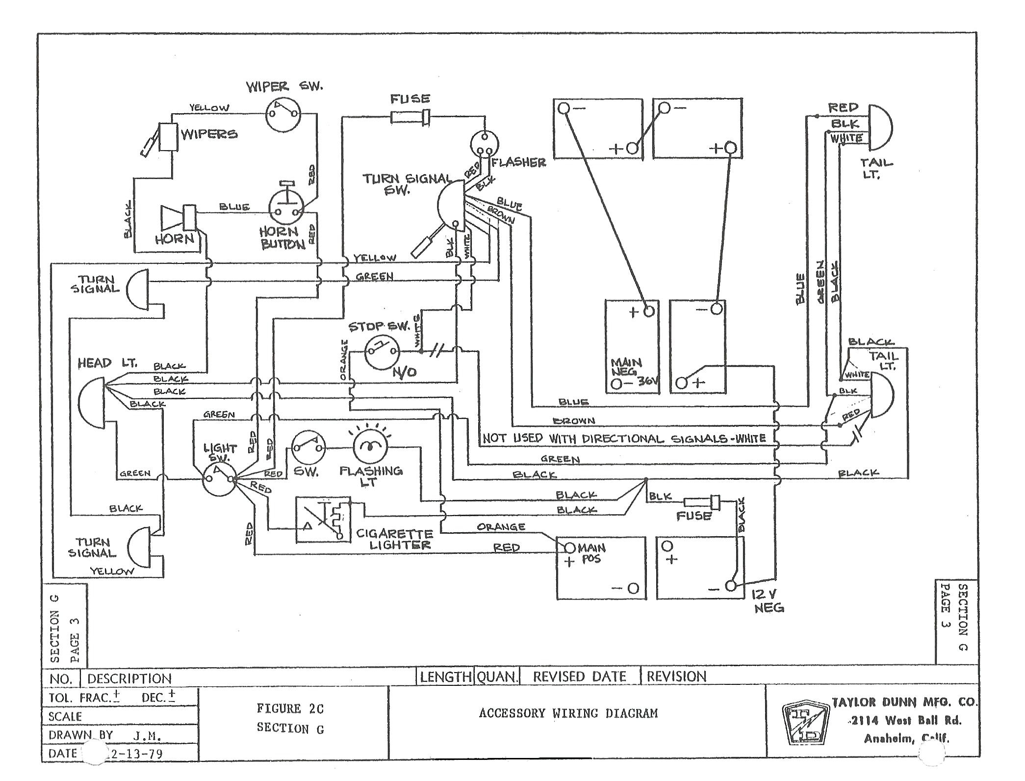 Club Car Wiring Diagram Light