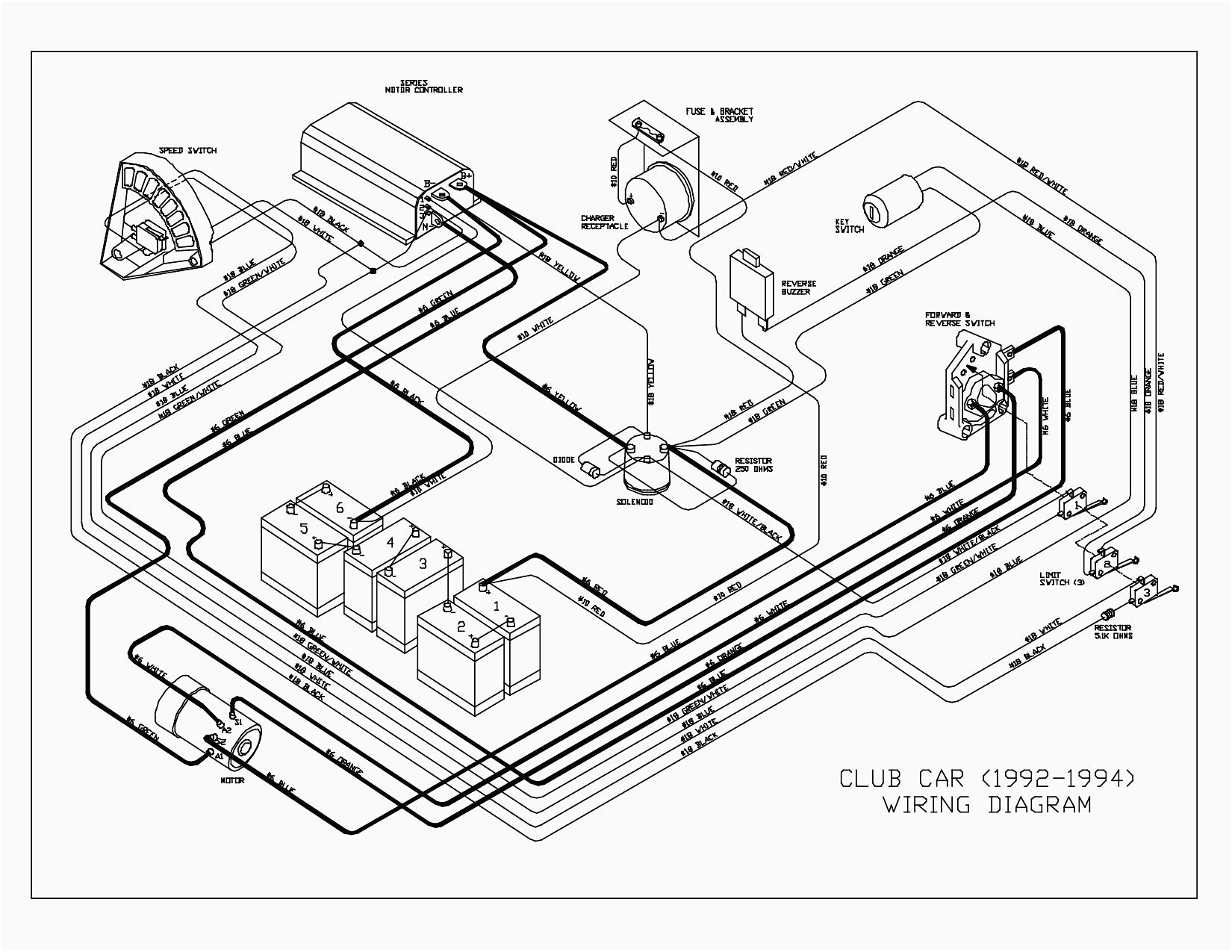 Club Car Parts Diagram Ingersoll Rand Club Car Wiring Diagram In Luxury Parts 43 Inside