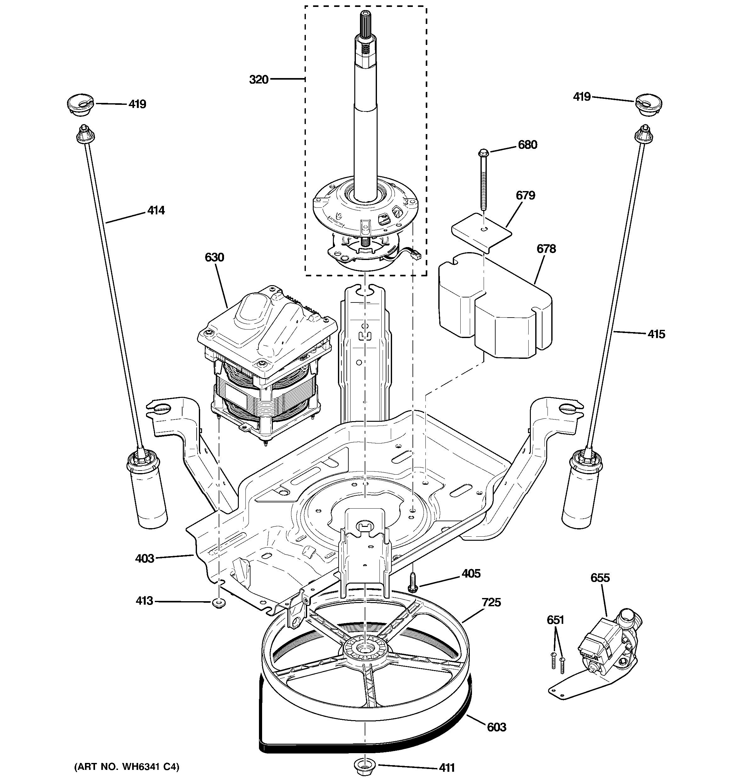 Clutch Components Diagram Ge Washer Parts Model Ghwp1000m2ww Of Clutch Components Diagram