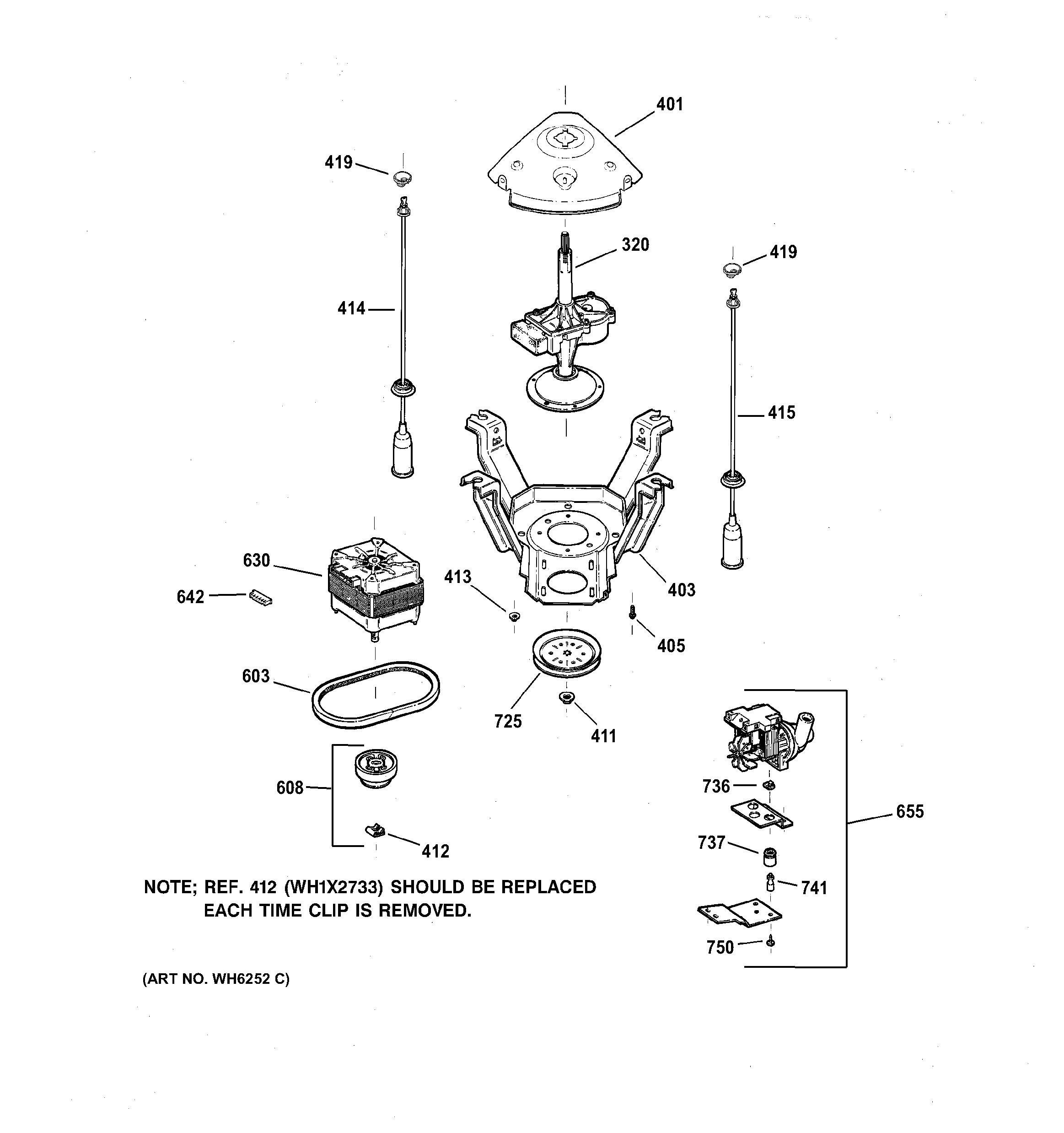 Clutch Components Diagram Porsche 944 Engine Oil Flow Ge Washer Parts Model Wpsq4160taww Of