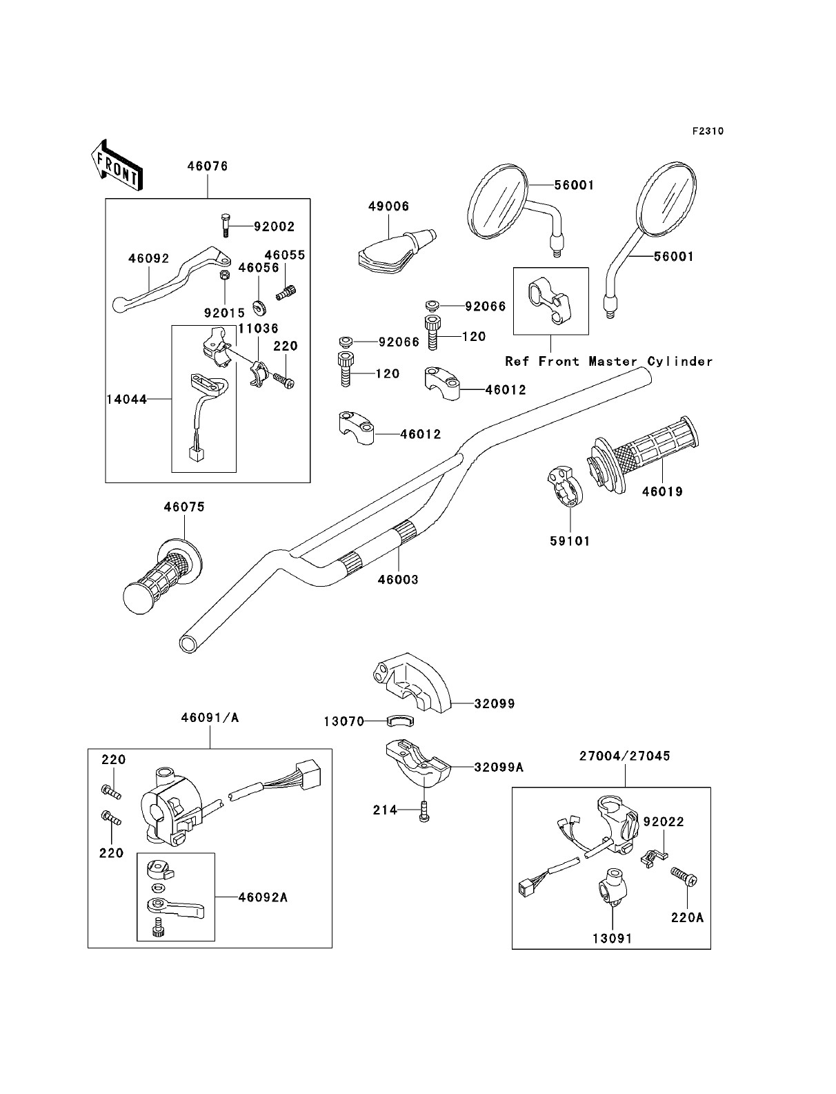 Clutch Master Cylinder Diagram Kawasaki Klr250 Kawasaki Klr250 Parts Diagrams Of Clutch Master Cylinder Diagram