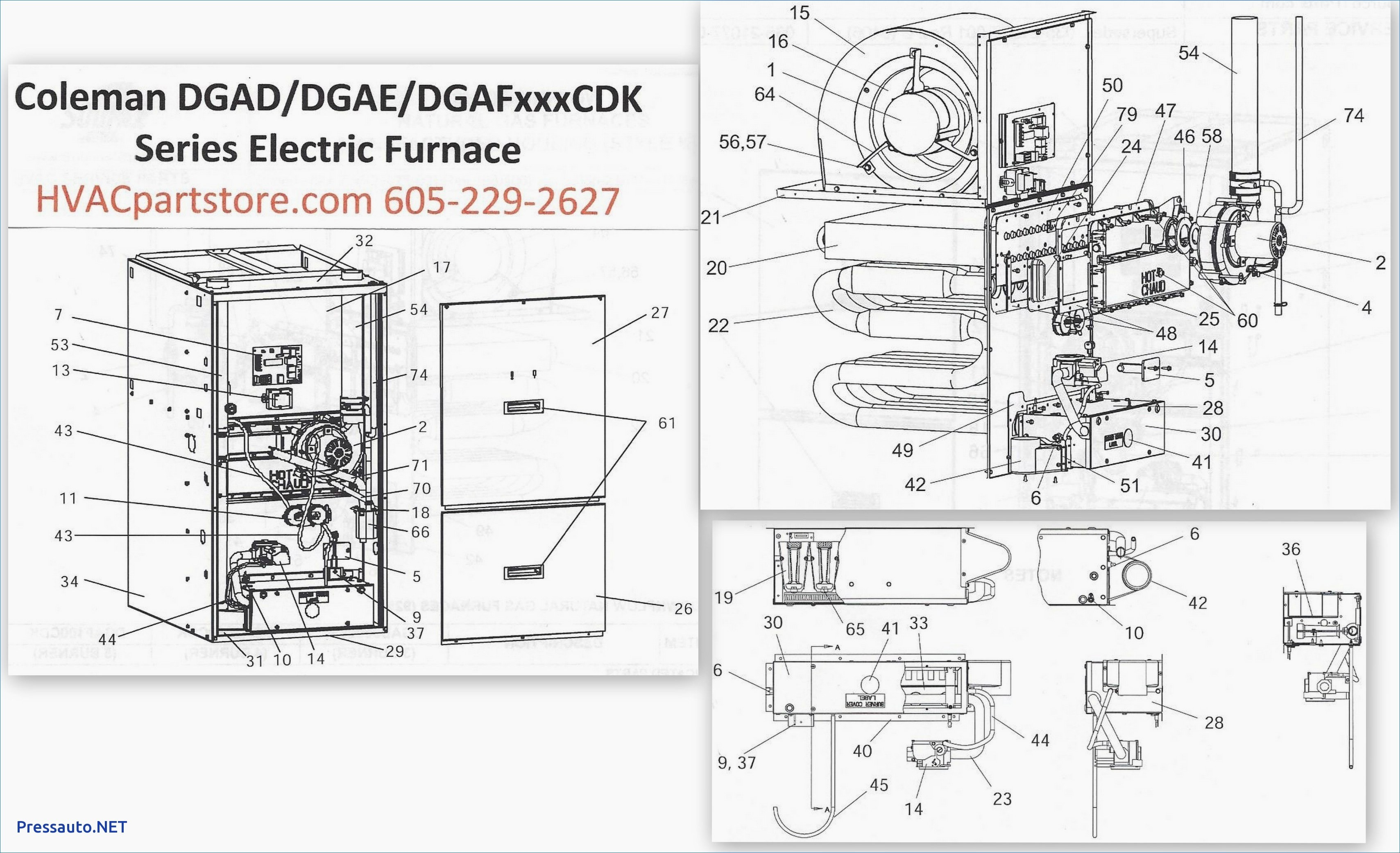Coleman Gas Furnace Diagram - Go Wiring Diagrams on