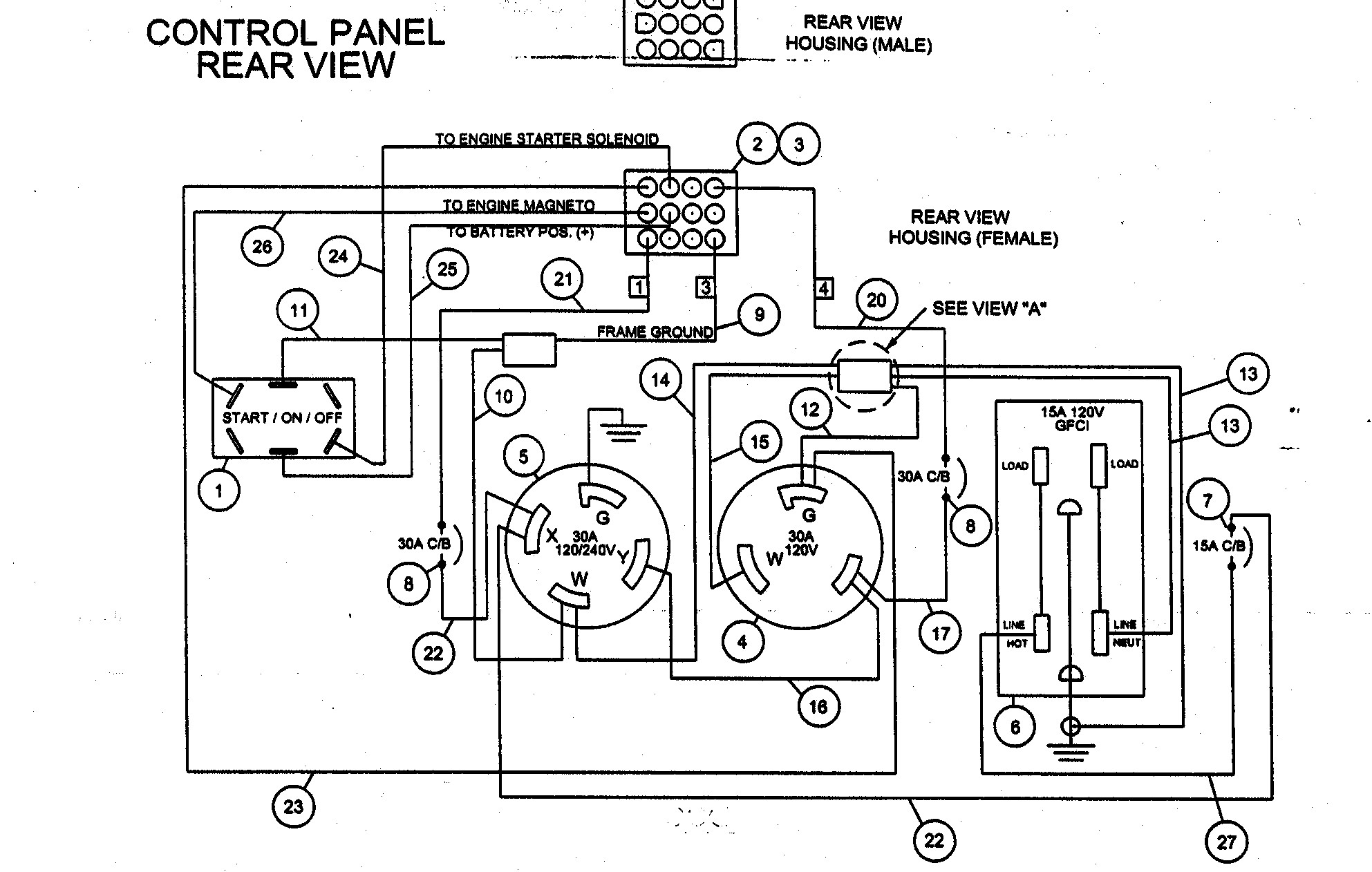 craftsman generator wiring diagram example electrical wiring diagram u2022 rh 162 212 157 63 Craftsman Air Compressor Wiring Diagram Craftsman GT 18 Wiring-Diagram