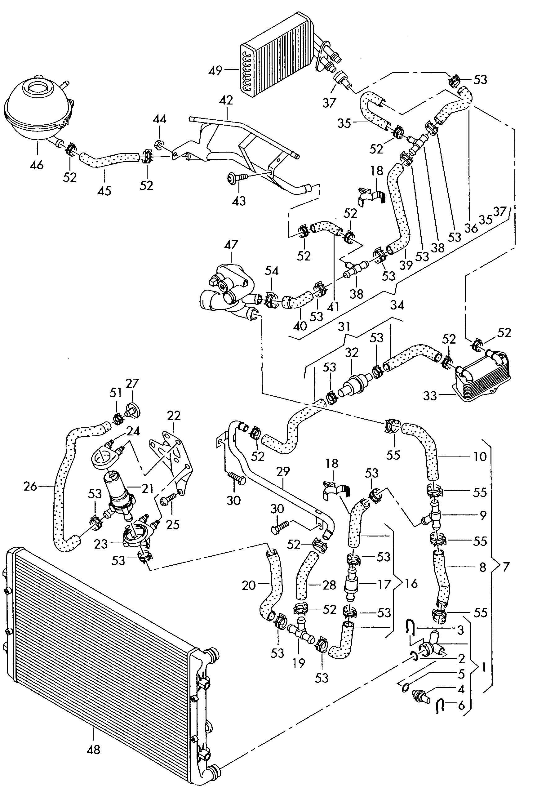 Coolant System Diagram Rover Engine Diagrams Wiring My Audi A3 Cooling Pinterest Of