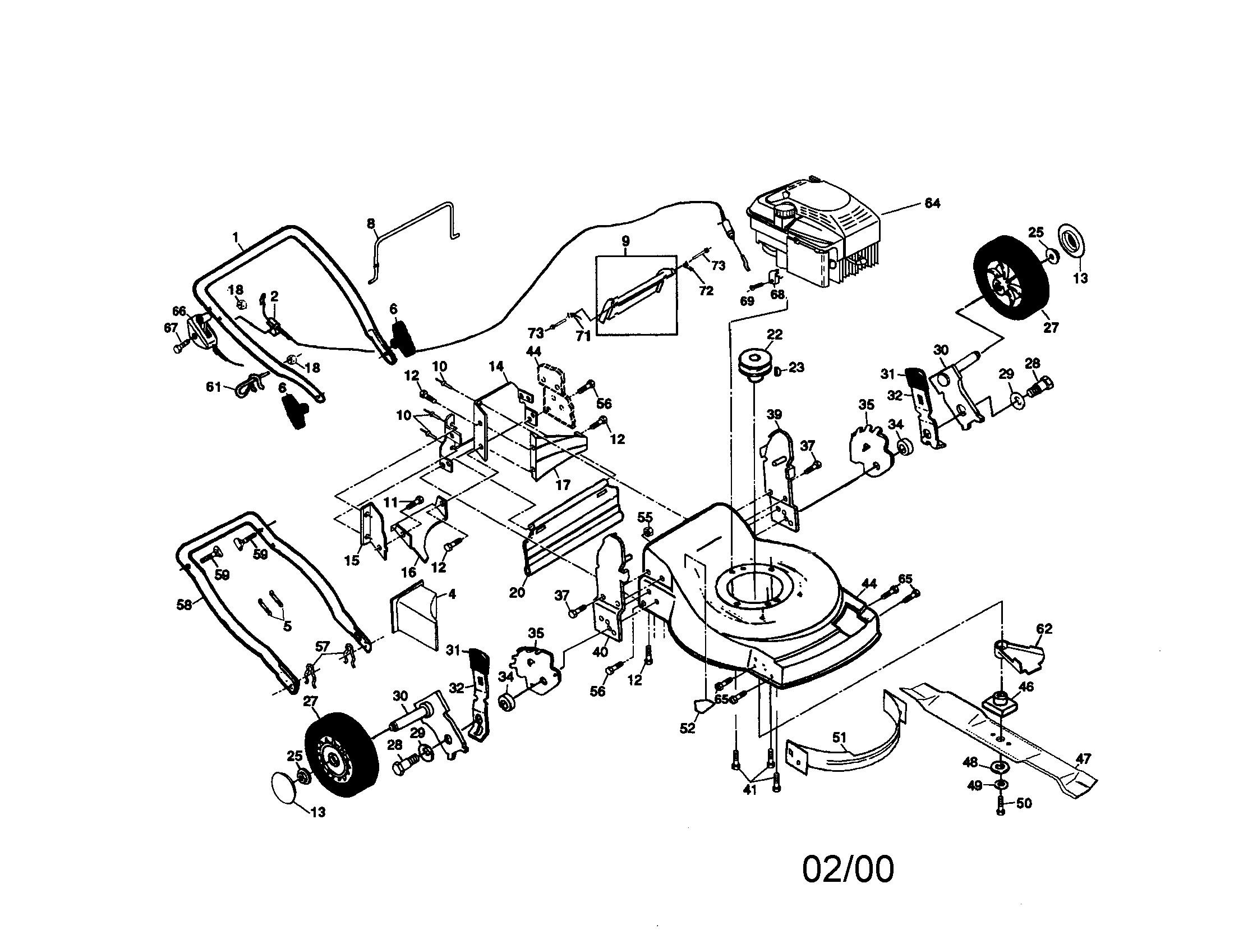 Craftsman Lawn Mower Parts Diagram 917 Craftsman 6 Hp 22 Inch Rear Discharge Lawn Mower Of Craftsman Lawn Mower Parts Diagram