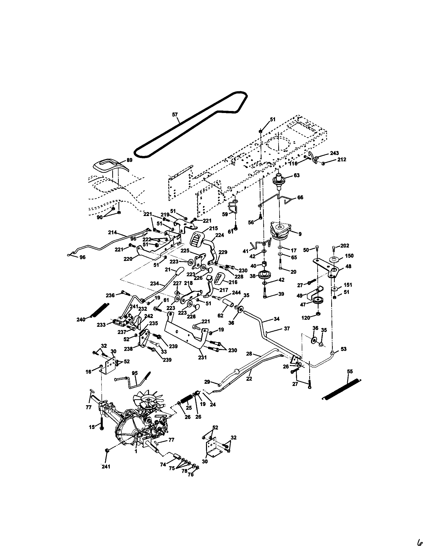 Craftsman Lawn Tractor Parts Diagram 917 Craftsman 20 Hp Electric Start 48 In Mower Automatic Of Craftsman Lawn Tractor Parts Diagram