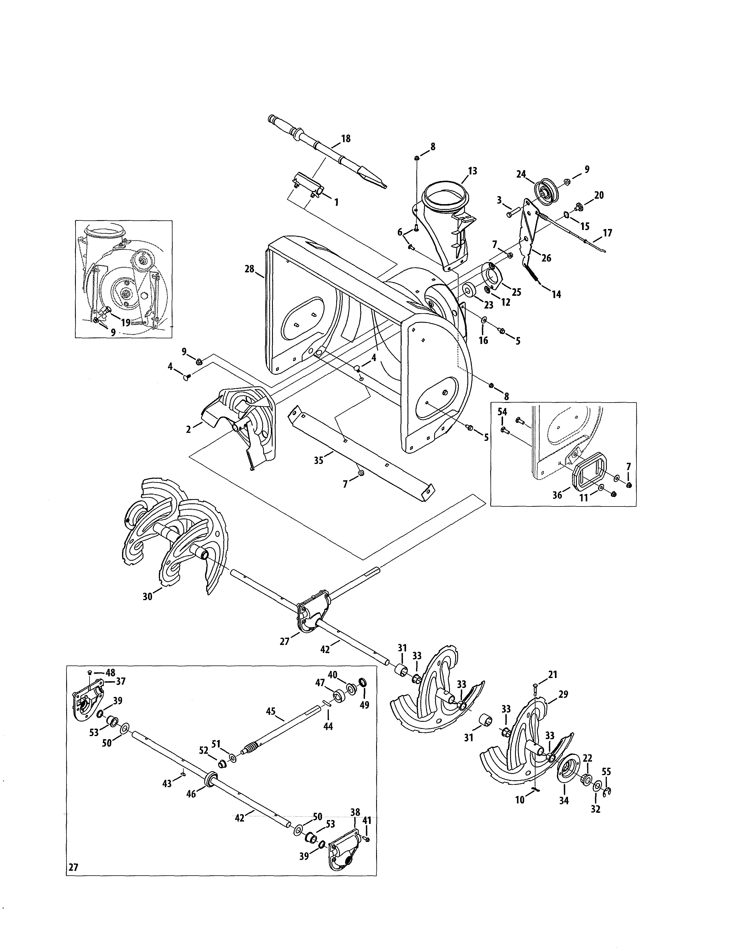 Craftsman Leaf Blower Parts Diagram Get Craftsman Parts and Free Manual for Model 247 Gas Snow