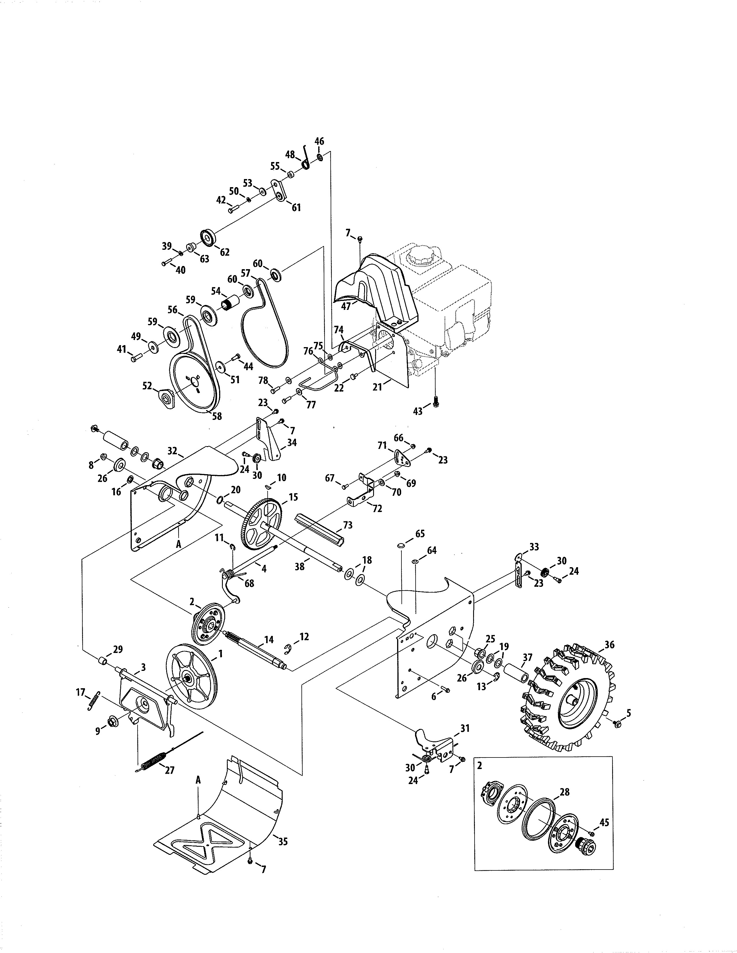 Craftsman Leaf Blower Parts Diagram My Wiring Diagram