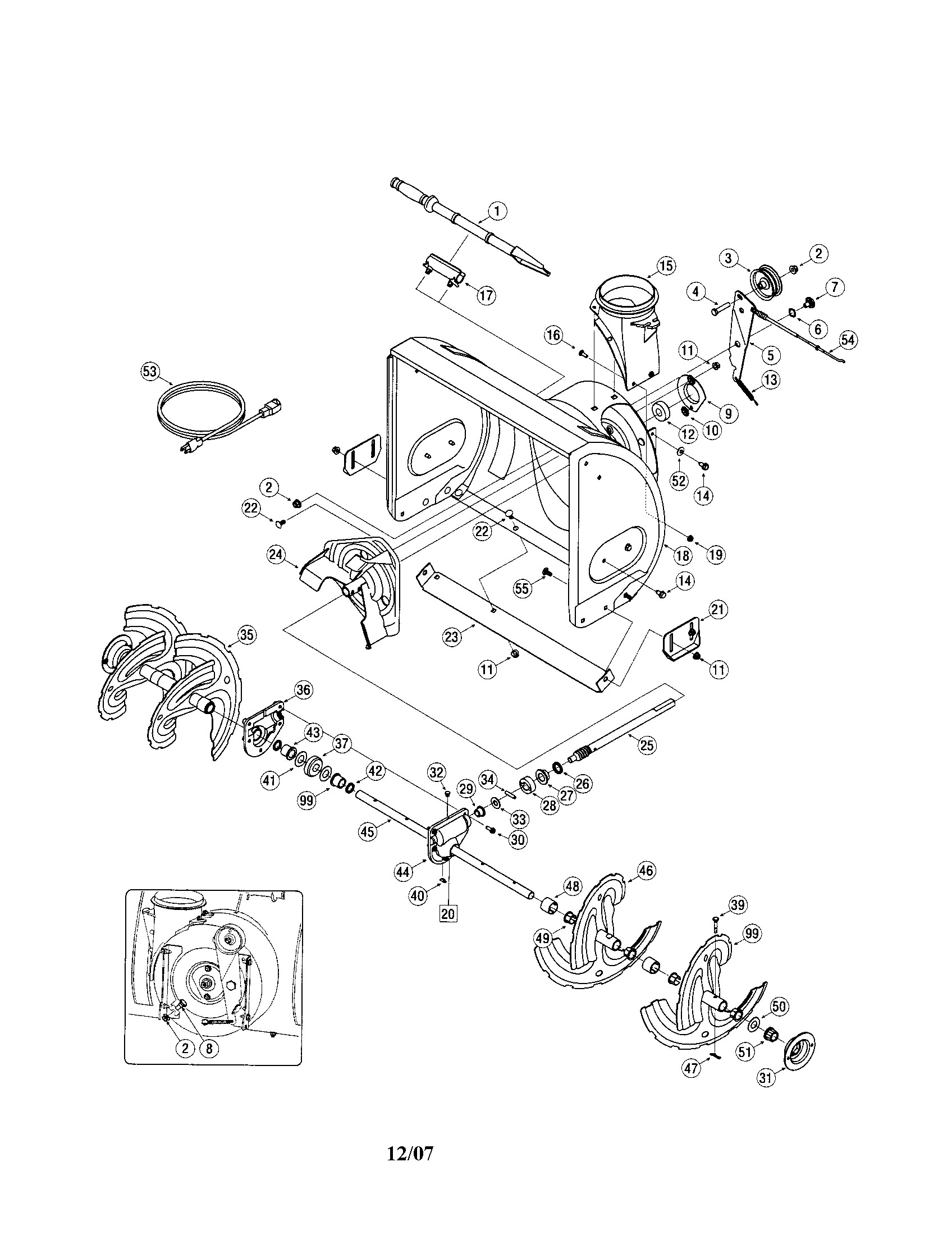 Craftsman Leaf Blower Parts Diagram Wel E to toolboxhero I Will Help You the Craftsman Snow Of Craftsman Leaf Blower Parts Diagram