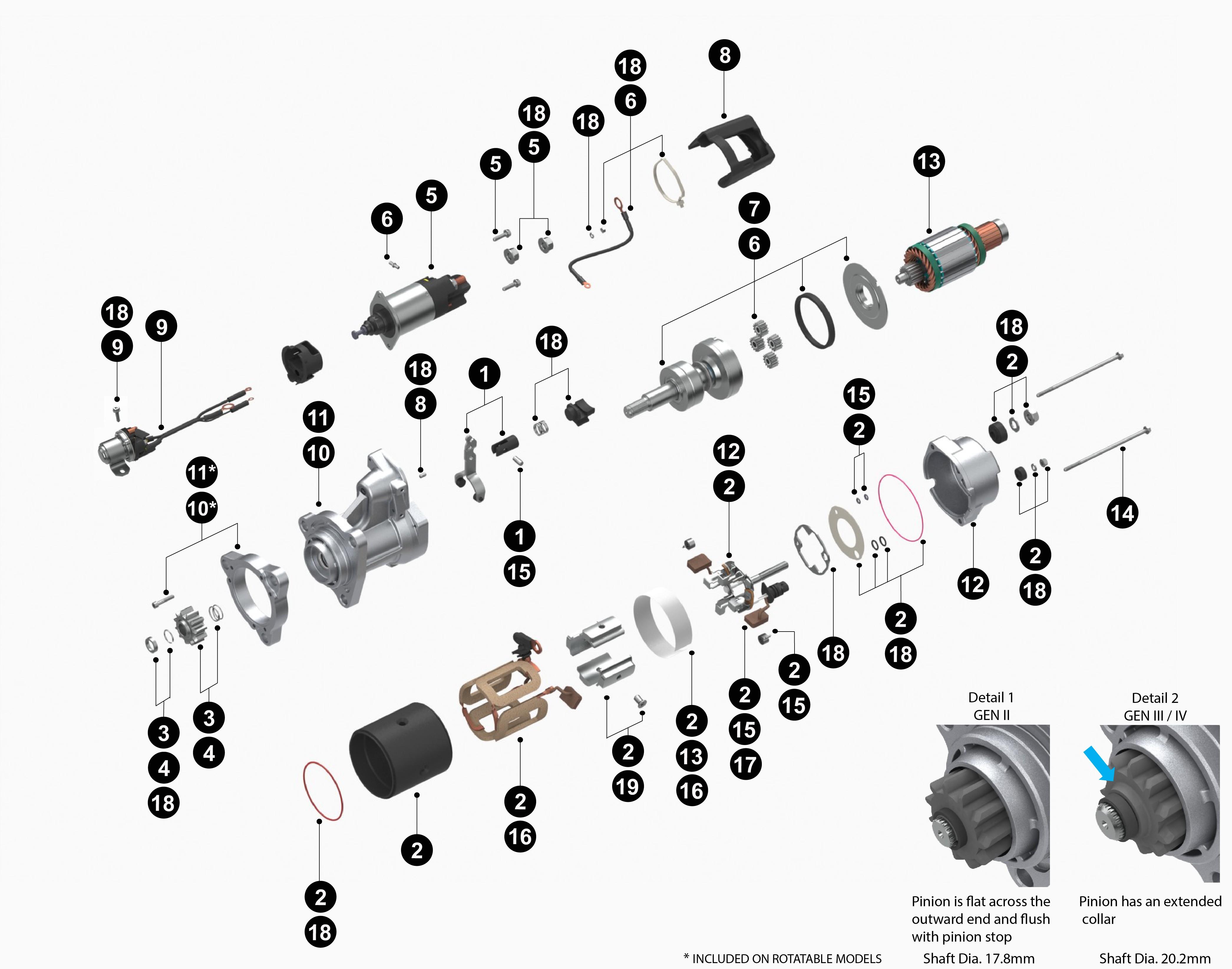 Cummins Isx Engine Diagram Ecm Wiring M11 12v 39mt Starter Oem Delco Replaces We Of