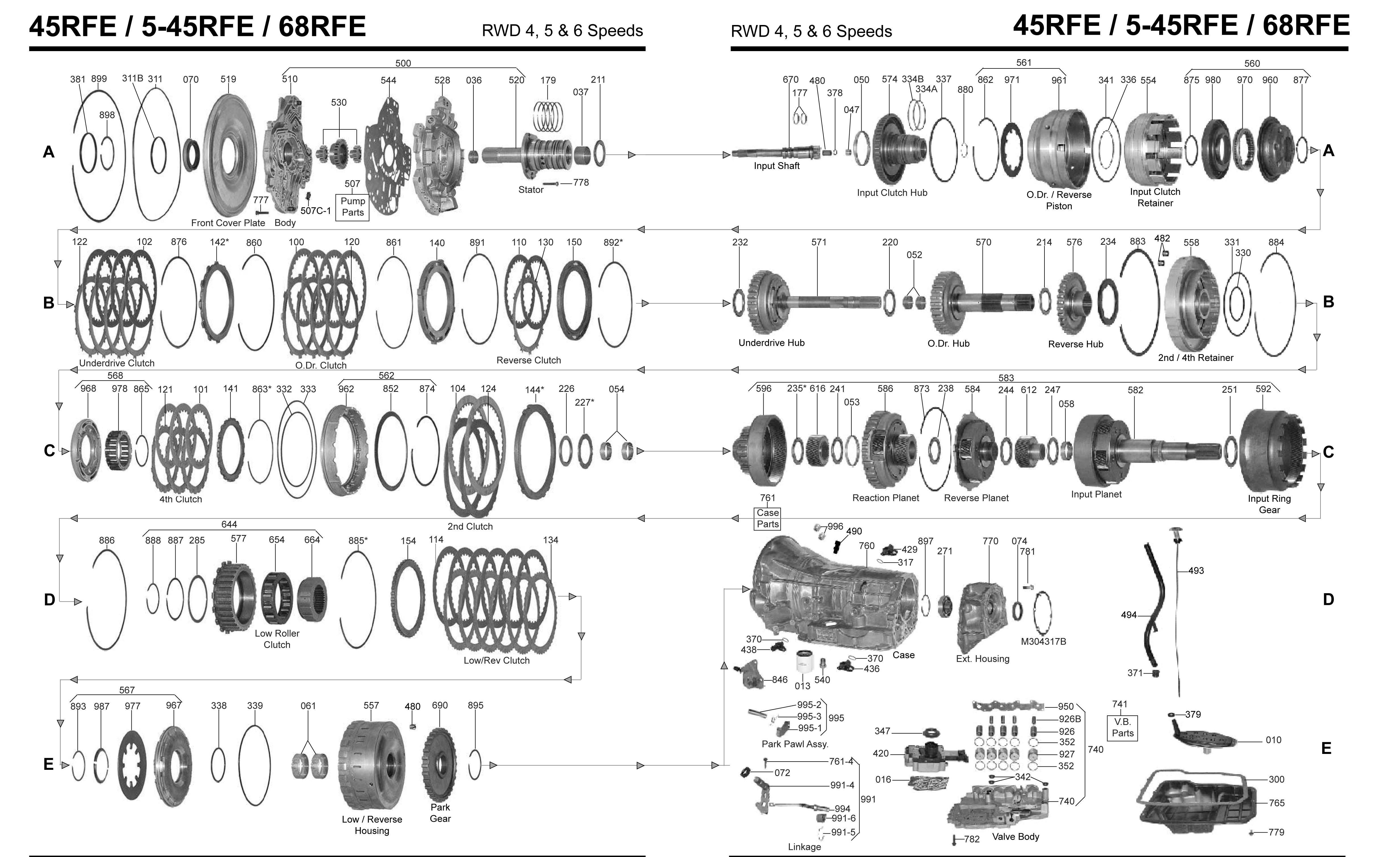 cvt transmission diagram