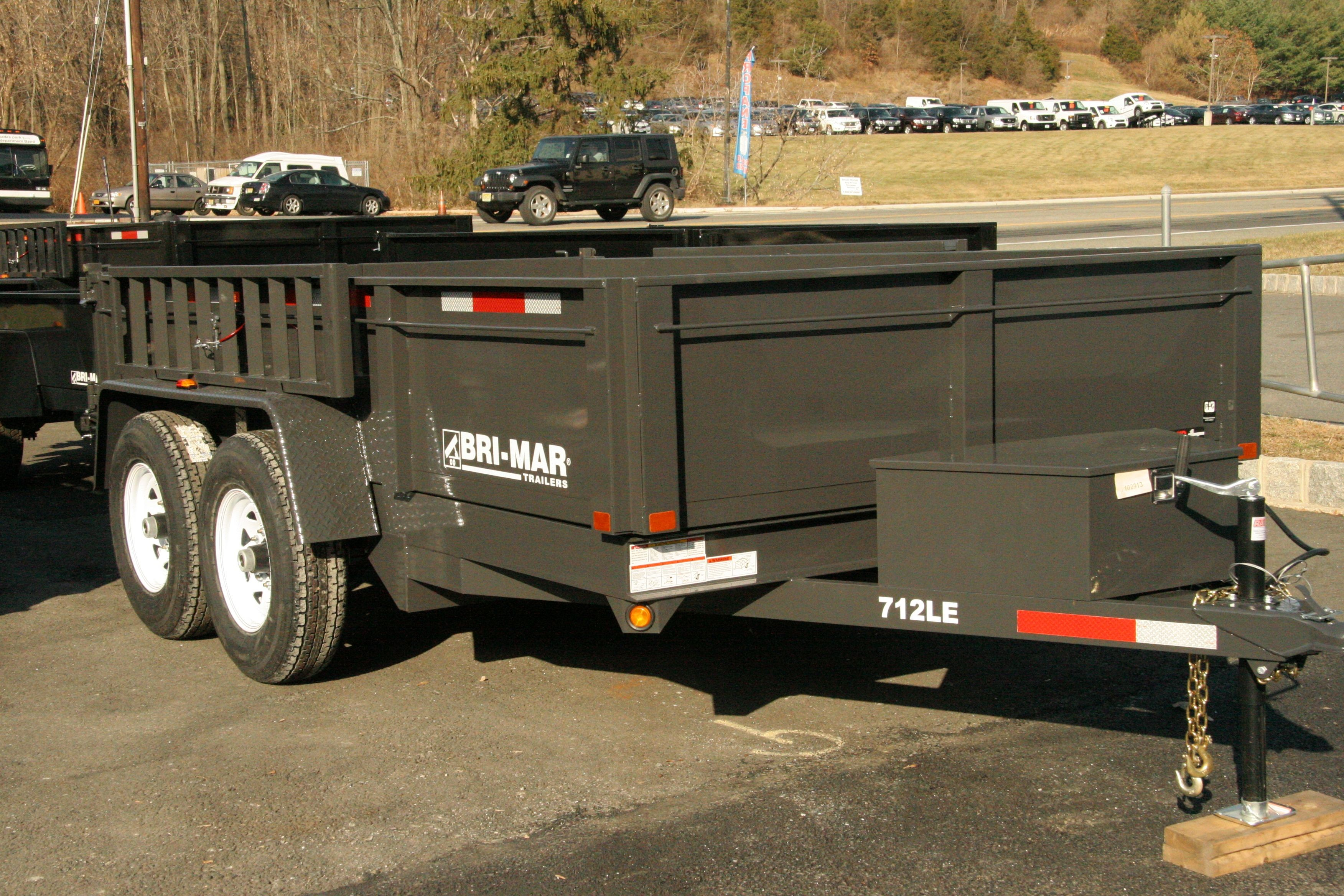 Diagram Of A Dump Truck Dark Grey Bri Mar Dump Trailer Great Color Check It Out Of Diagram Of A Dump Truck