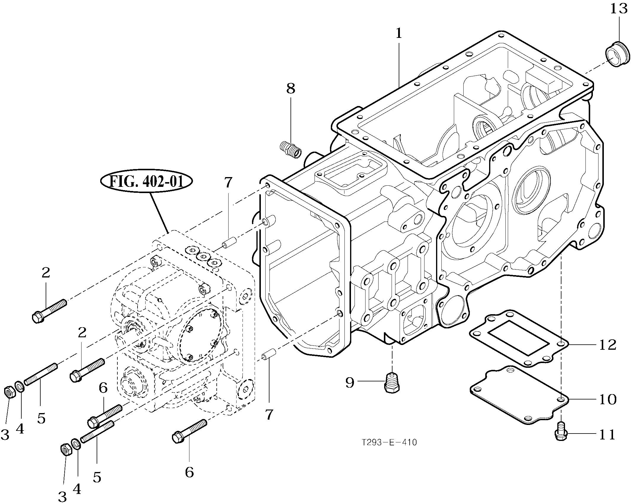 Diagram Of A Transmission Rear Transmission Case T293 Tym Tractors Of Diagram Of A Transmission
