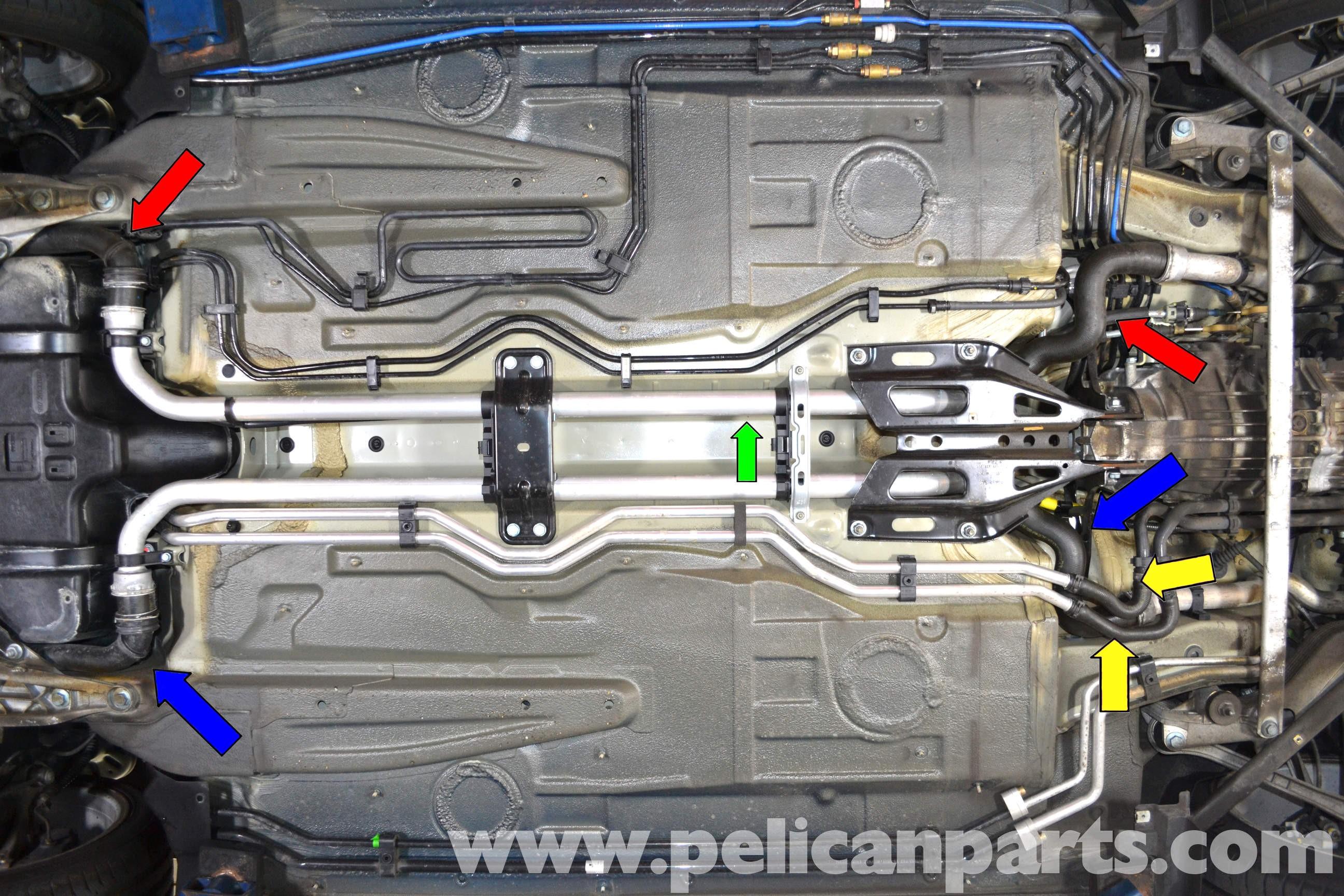 Diagram Of Car Coolant System Porsche 911 Carrera Coolant Hose Replacement 996 1998 2005 997 Of Diagram Of Car Coolant System