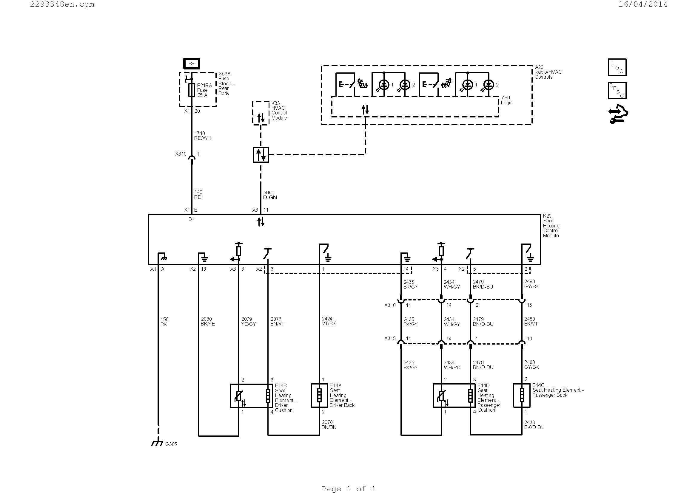 Diagram Of Car Heating System Heated Seats Description and Operation Of Diagram Of Car Heating System