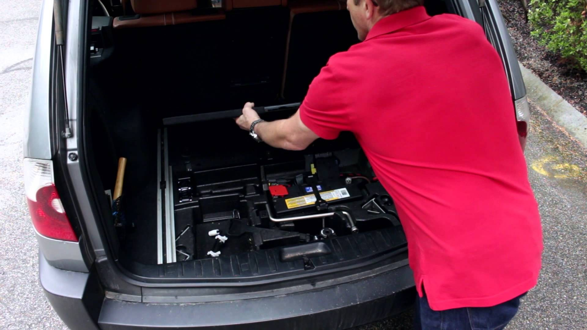 Diagram Of Car Tire How to Access and Remove the Spare Tire In A Bmw X3 E83 Of Diagram Of Car Tire