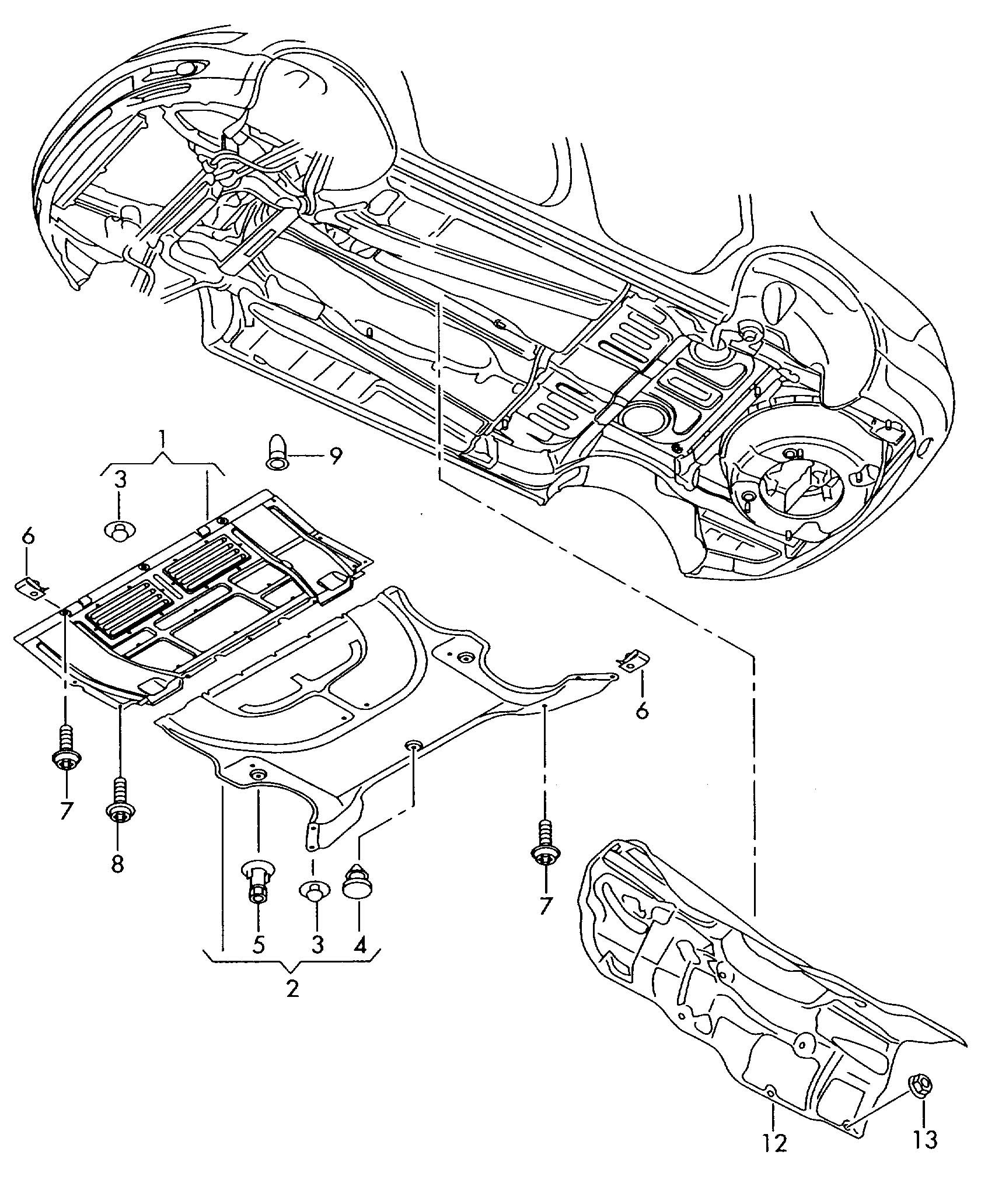 Diagram Of Car Underside Vwvortex Broken Underbody Shield and Missing Fasteners Of Diagram Of Car Underside