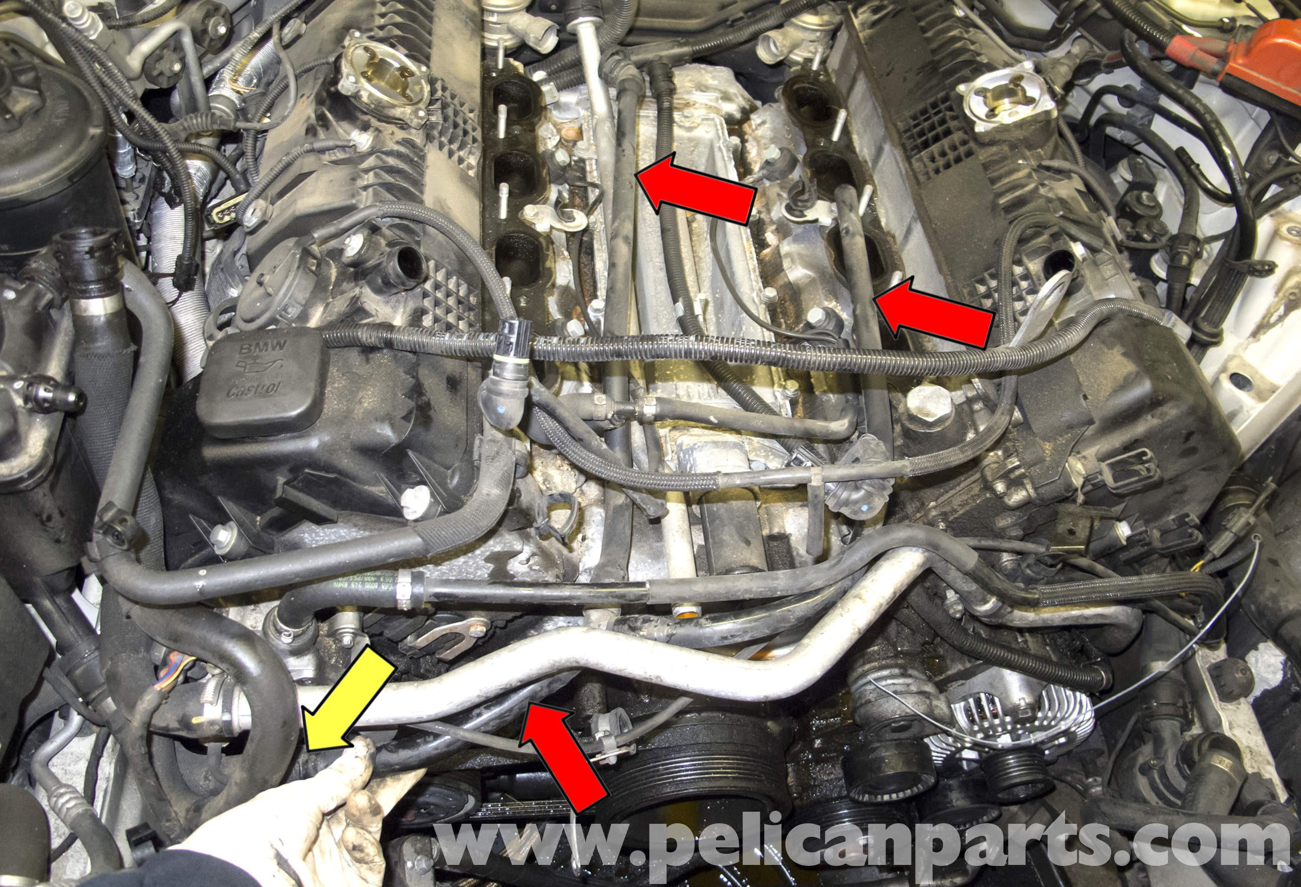 Diagram Of Car Water Pump Bmw E60 5 Series N62 8 Cylinder Coolant Pipe Replacement Pelican Of Diagram Of Car Water Pump How to Change Engine Timing Belt Dodge Intrepid 3 5l 95 97 Part 2
