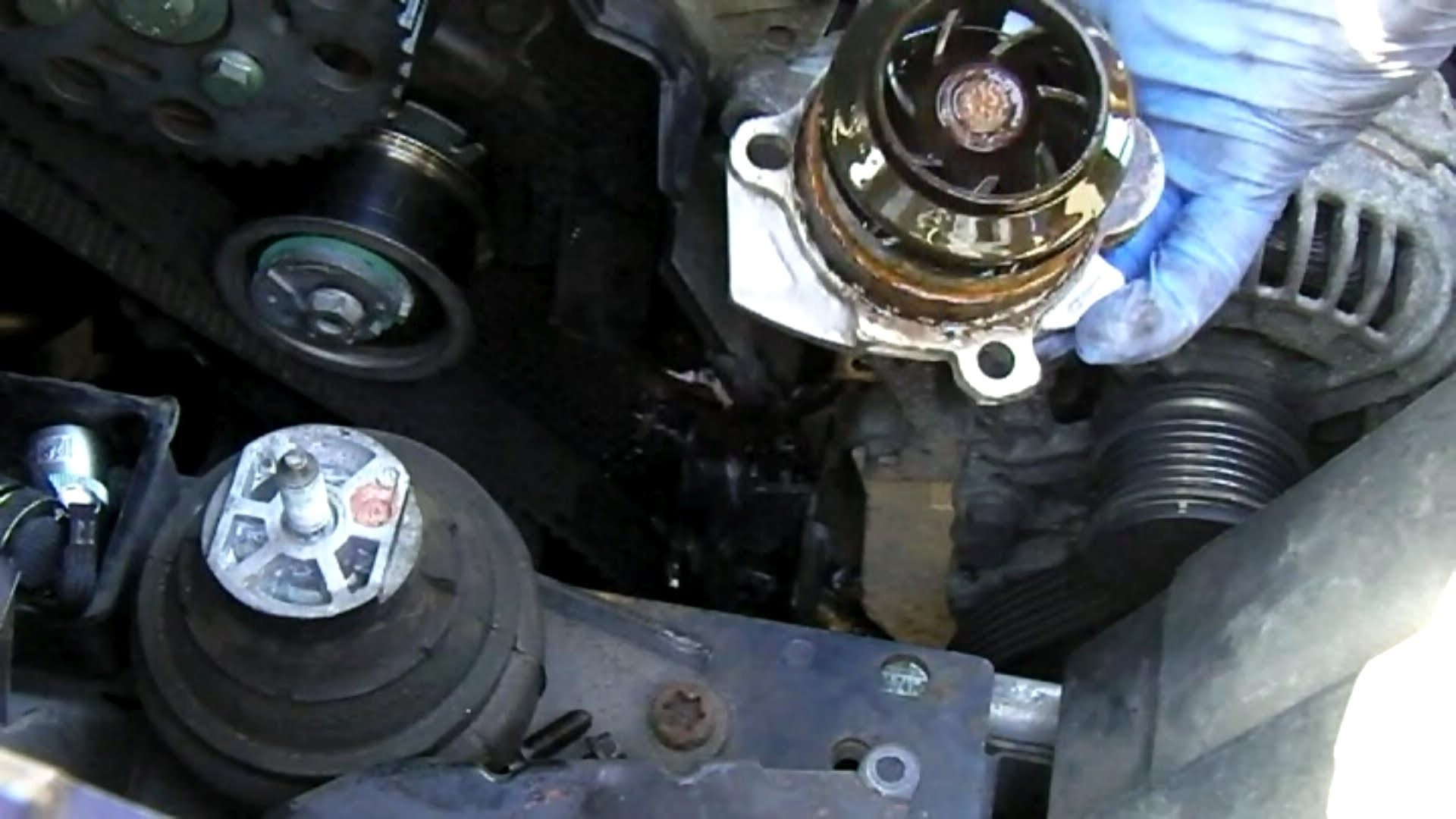 Diagram Of Car Water Pump ford Galaxy 1 9 Tdi Mk2 Water Pump Removal Of Diagram Of Car Water Pump How to Change Engine Timing Belt Dodge Intrepid 3 5l 95 97 Part 2