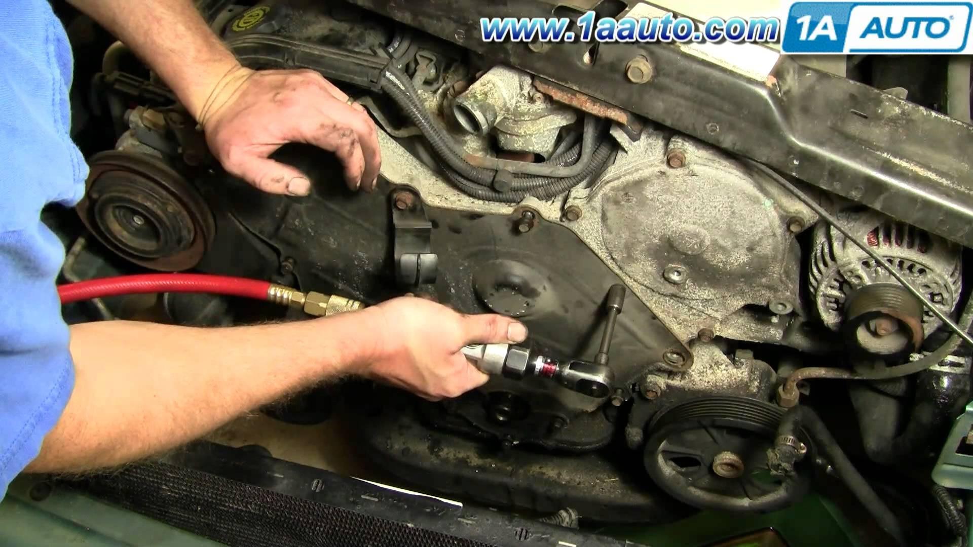 How To Change Engine Timing Belt Dodge Intrepid 3 5L 95 97 Part 2