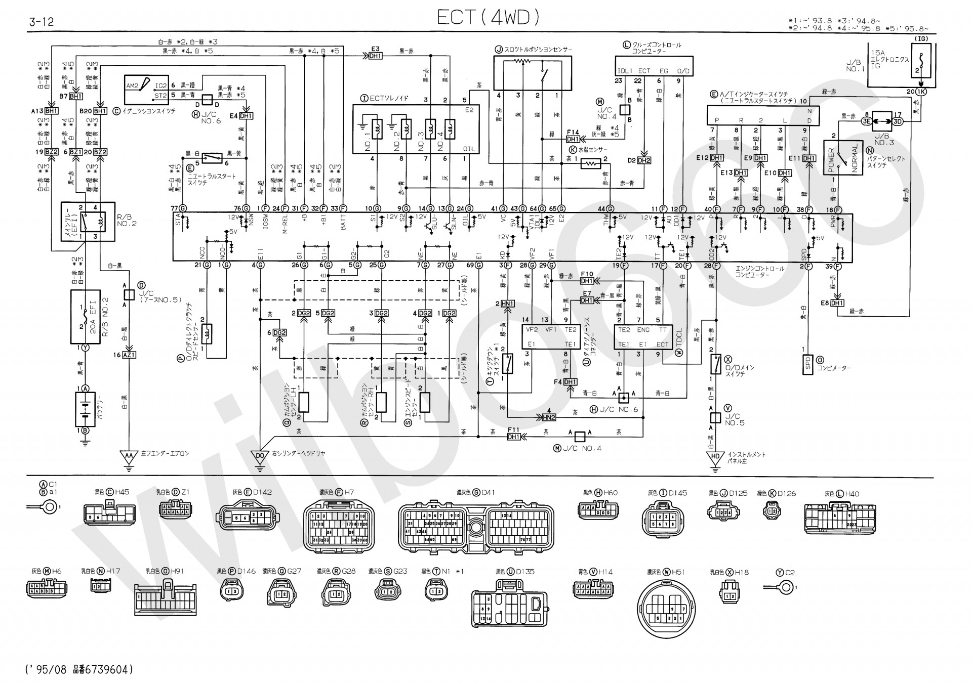 Diagram Of Engine Diagram Wiring Harness Repair Guides Diagrams Autozone B16