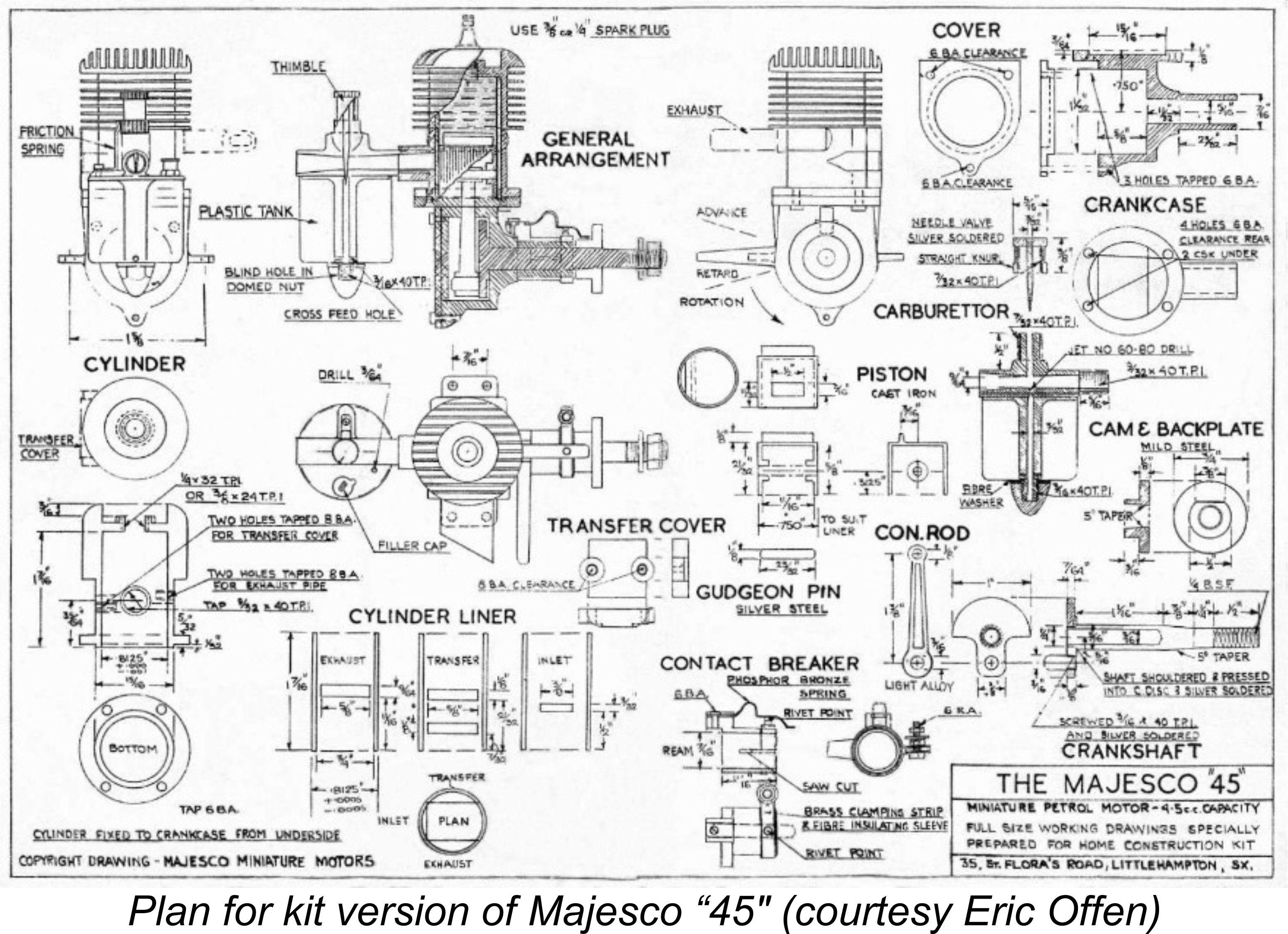 Diagram Of Engines Adriansmodelaeroengines Majesco Motors Of Diagram Of Engines