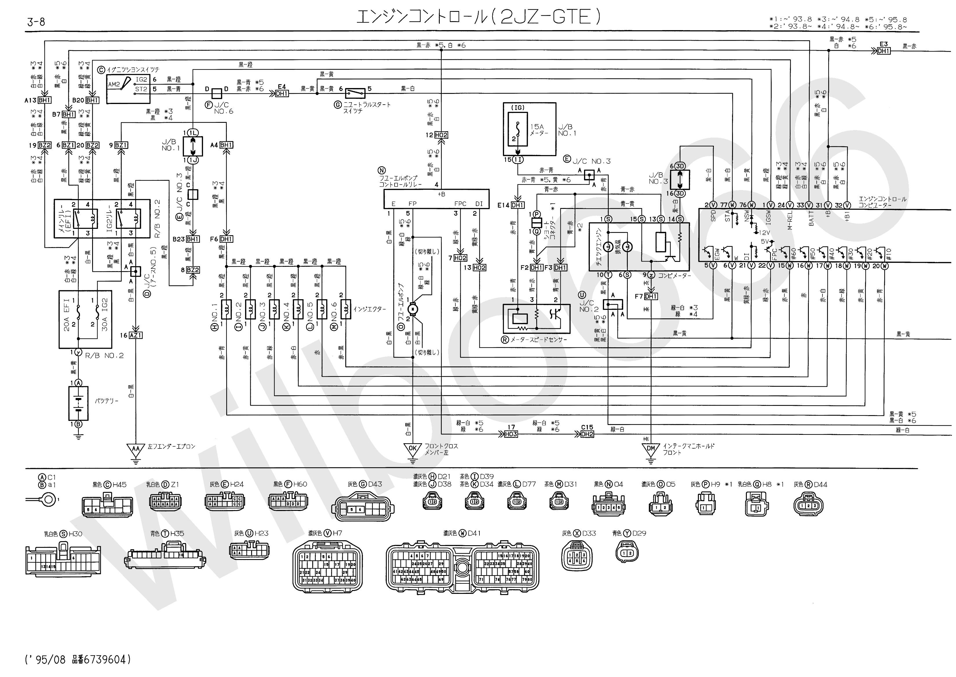 Diagram Of Fuel Injection System 1jz Series Ecu Wiring Harness Wilbo666 2jz Gte Jzs147 Aristo Engine