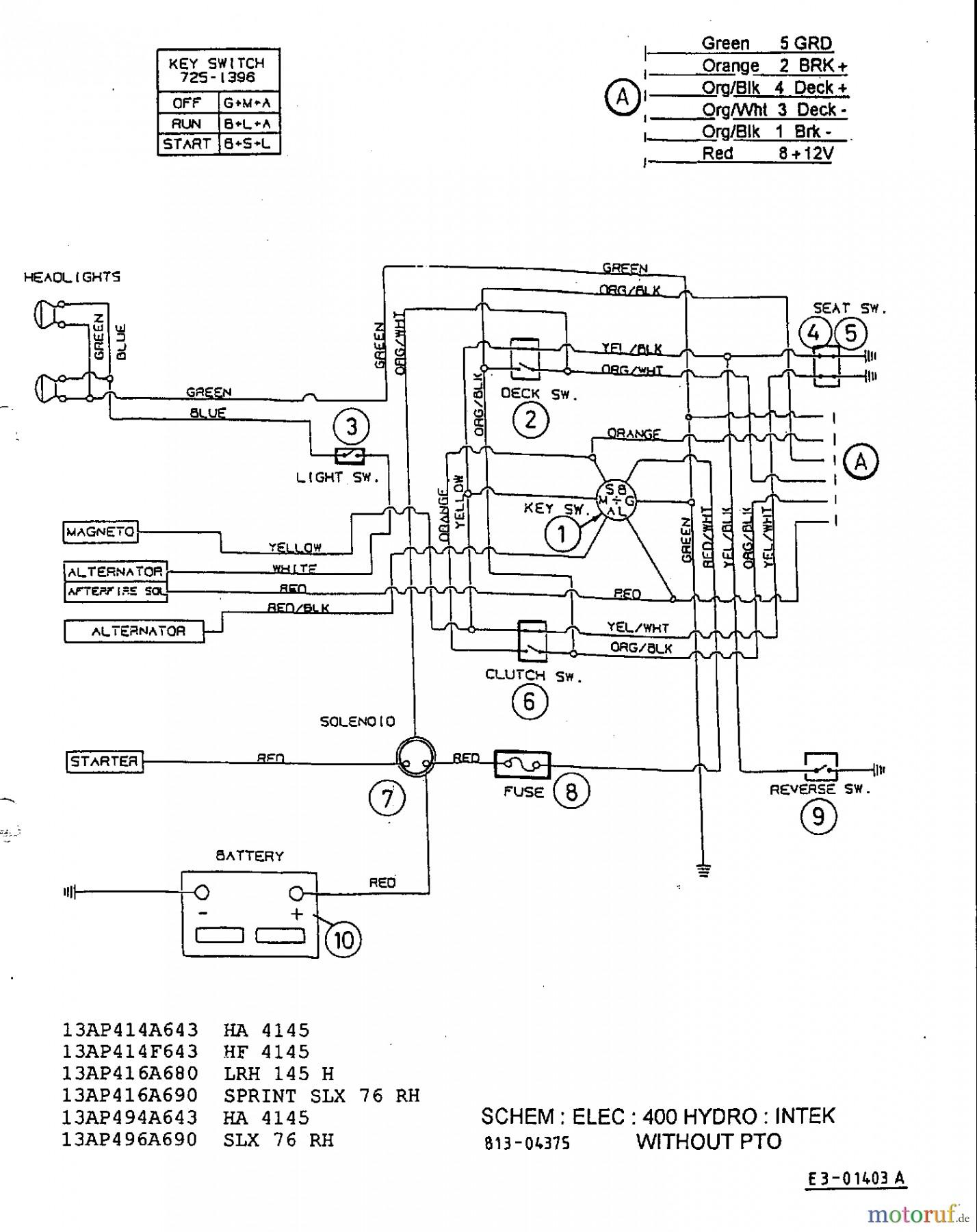 Diagram Of Lawn Mower Engine Mtd Riding Mower Wiring Diagram with Yard Machine Of Diagram Of Lawn Mower Engine