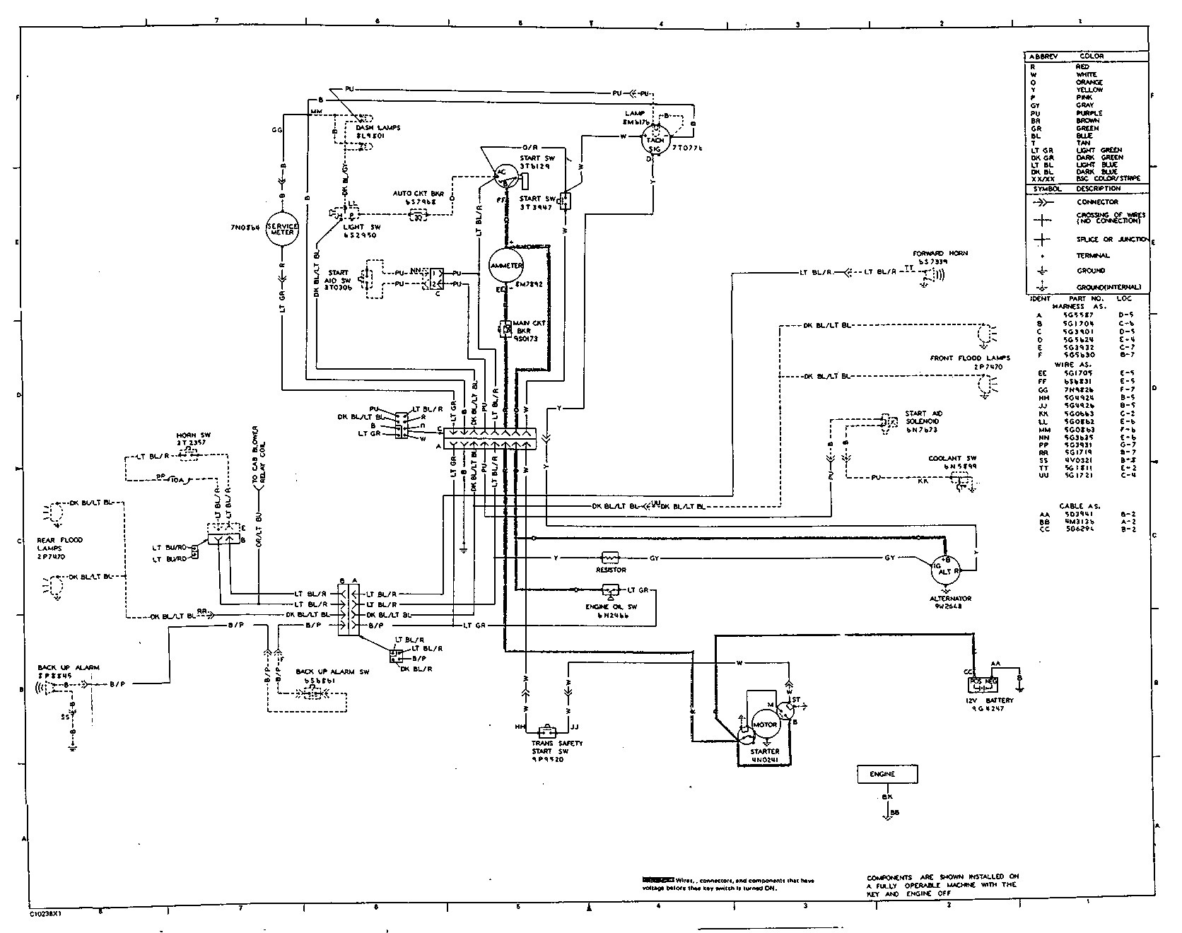 Diesel Engine Starter Wiring Diagram Motor Starter Circuit Diagram ...