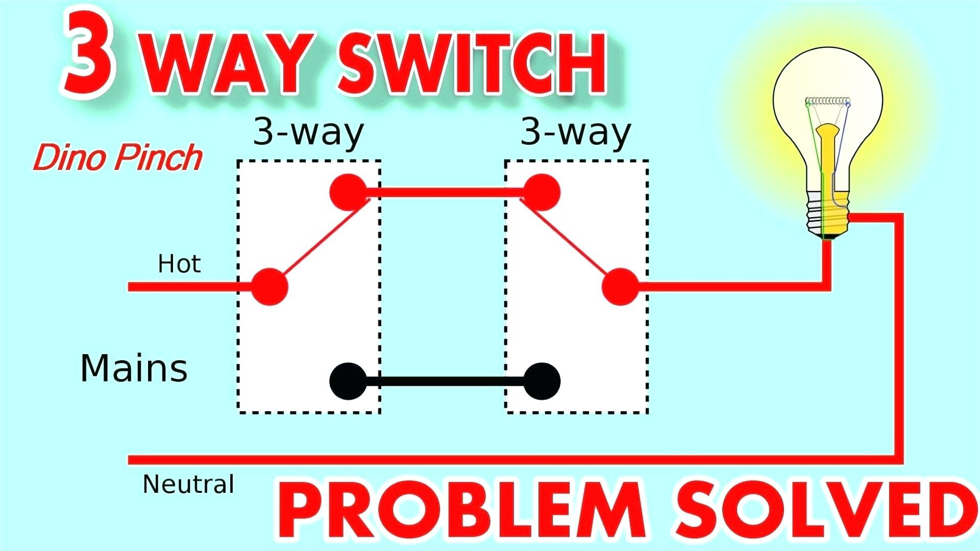 Dimmable Ballast Wiring Diagram Awesome Dimmable Three Way Switch ...
