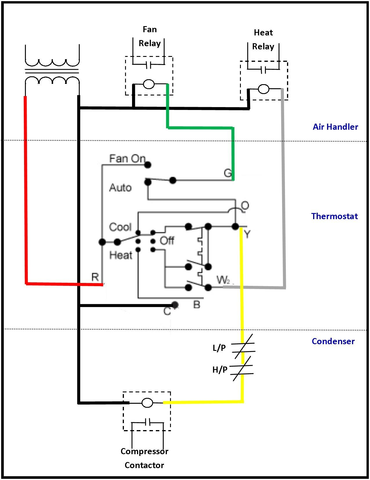 Double Pole Thermostat Wiring Diagram Baseboard Heater Heating Unique For A 120 Volt Line Voltage Of