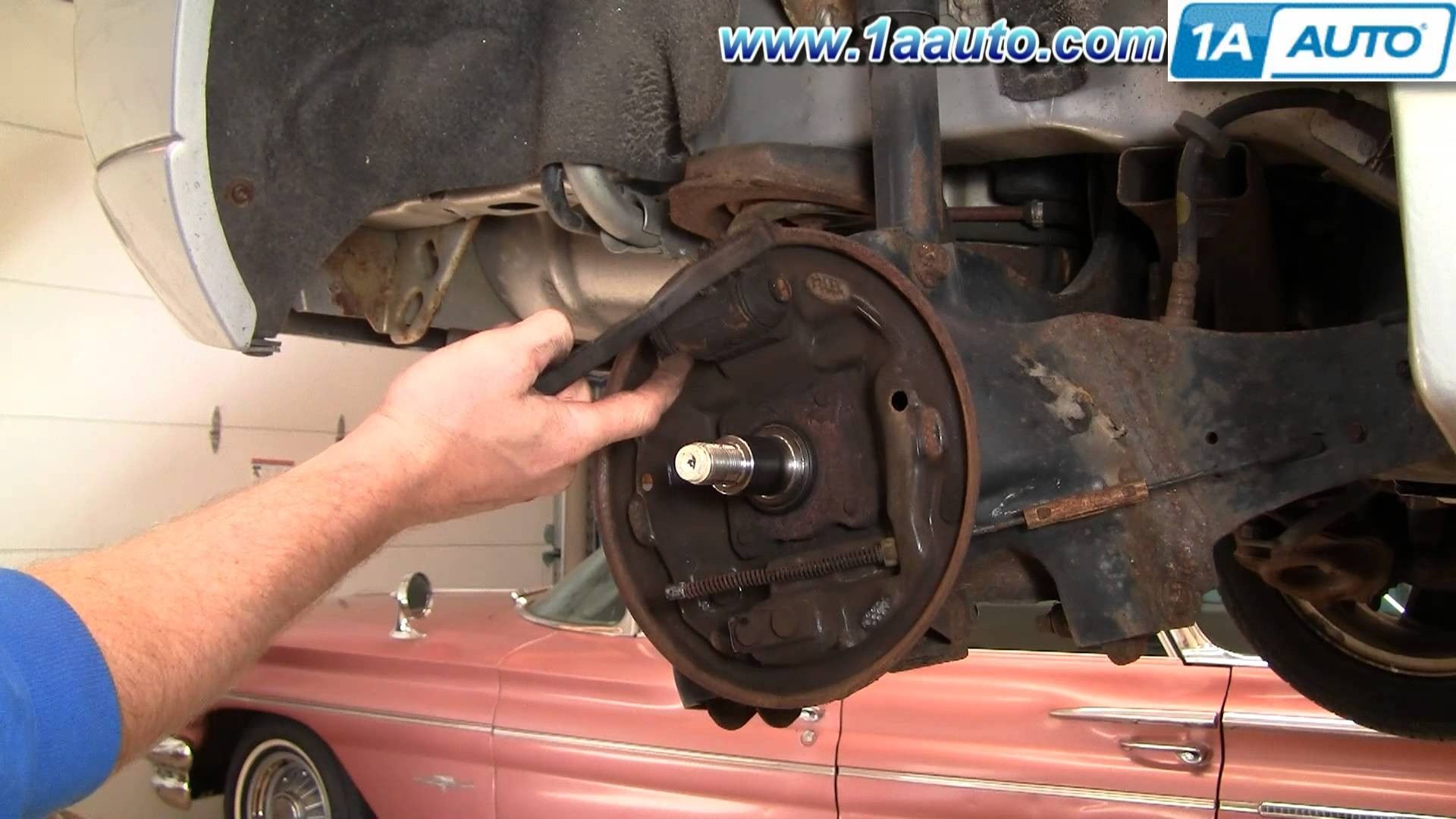 Drum Brake Diagram How to Install Replace Rear Drum Brakes ford Focus 00 11 1aauto Of Drum Brake Diagram